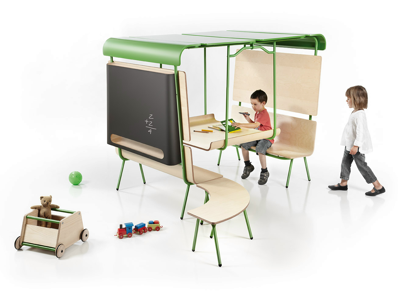 Ottawa mesa para ni os by made design dise o emiliana design studio - Bureau secretaire enfant ...