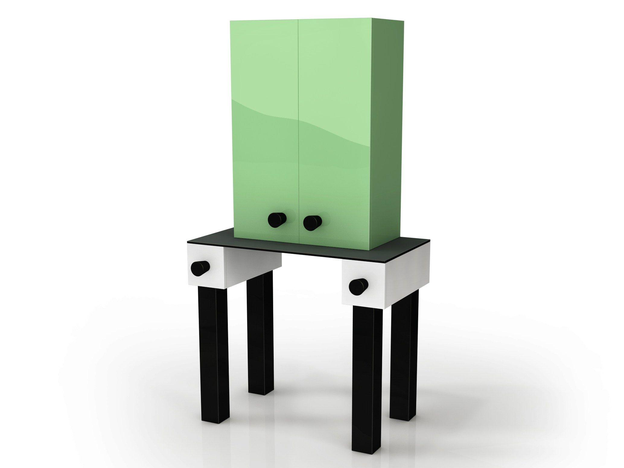 Mobile bar in alluminio ernest by altreforme design elena cutolo - Mobili anni venti ...