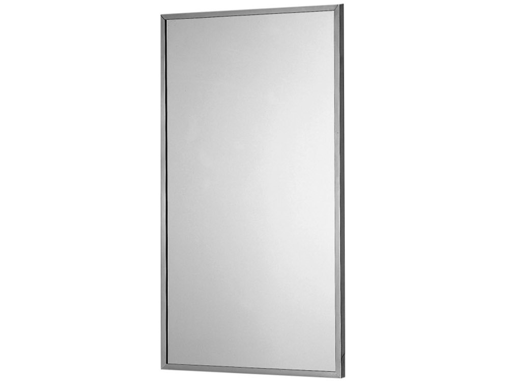 Bagnosicuro Inox Miroir Rectangulaire By Ponte Giulio
