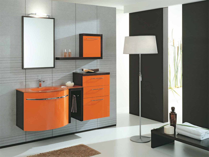 Mobile lavabo laccato con cassetti genius g201 by legnobagno - Legnobagno prezzi ...