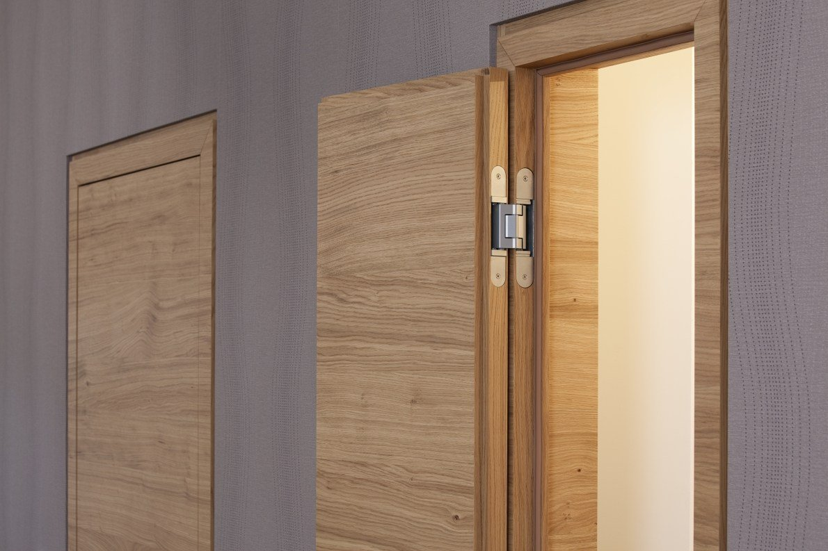 Concealed door hinge tectus by simonswerk - Hidden hinges for exterior doors ...