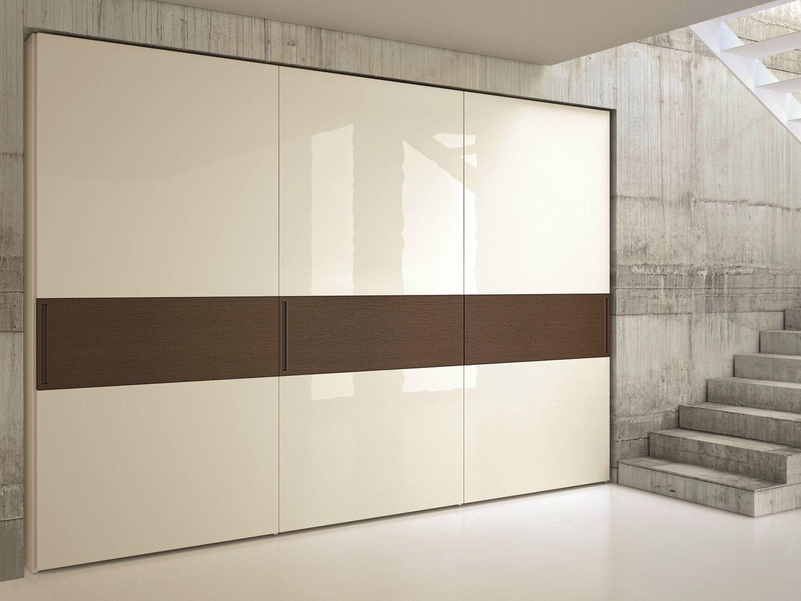 Armario empotrado lacado con puertas correderas emotion - Puertas correderas armario empotrado ...