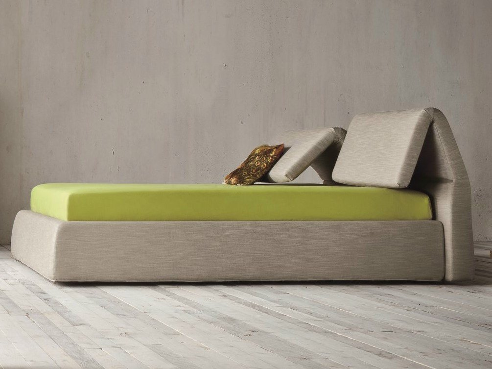 Plia Bed With Adjustable Headrest By Dall Agnese Design