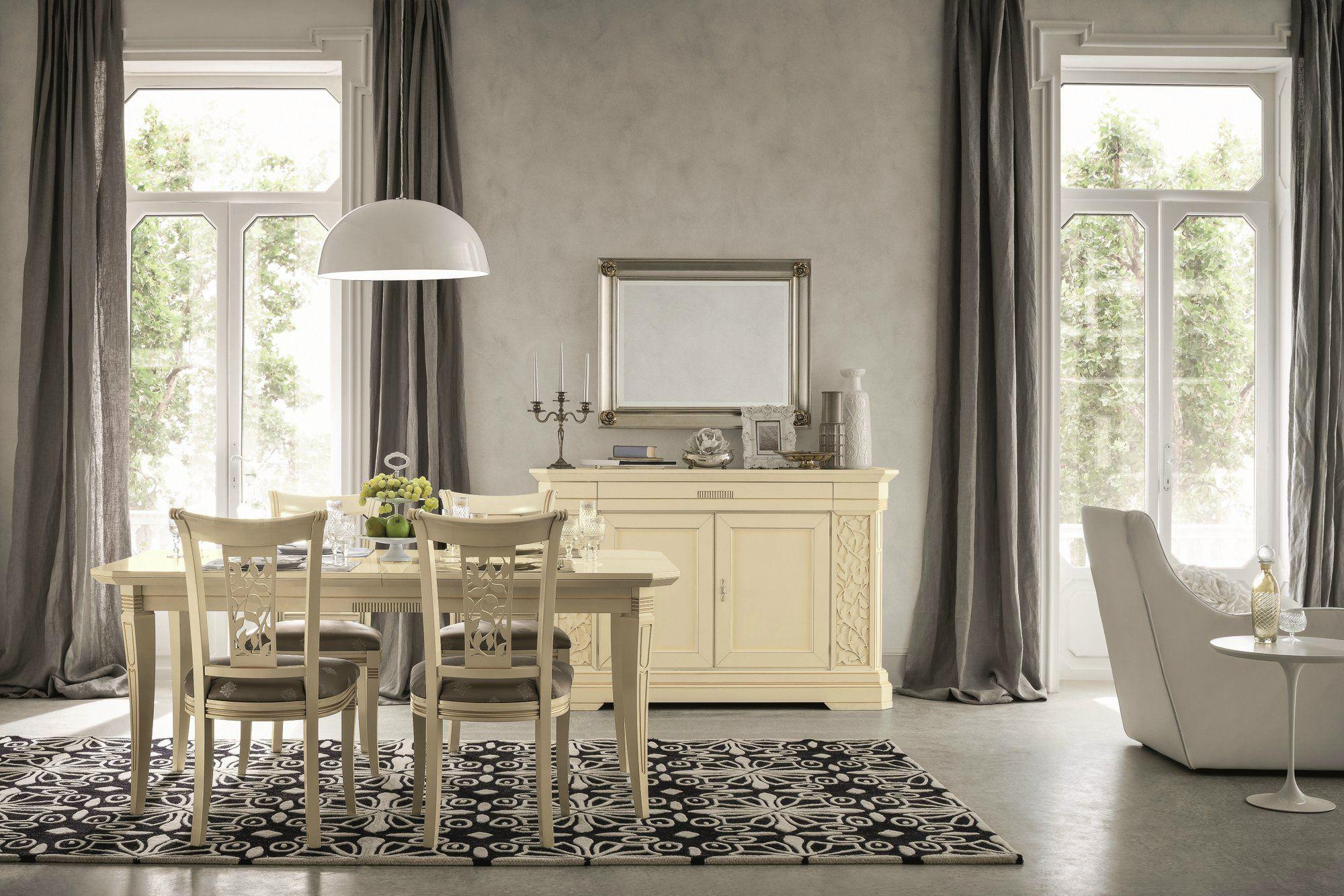 Tiffany sedia laccata by dall agnese design imago design meneghin studio - Dall agnese mobili classici ...