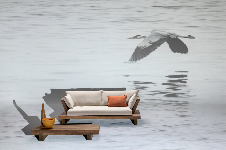 Suar sofa by il giardino di legno design cipiuelle - Il giardino di legno ...