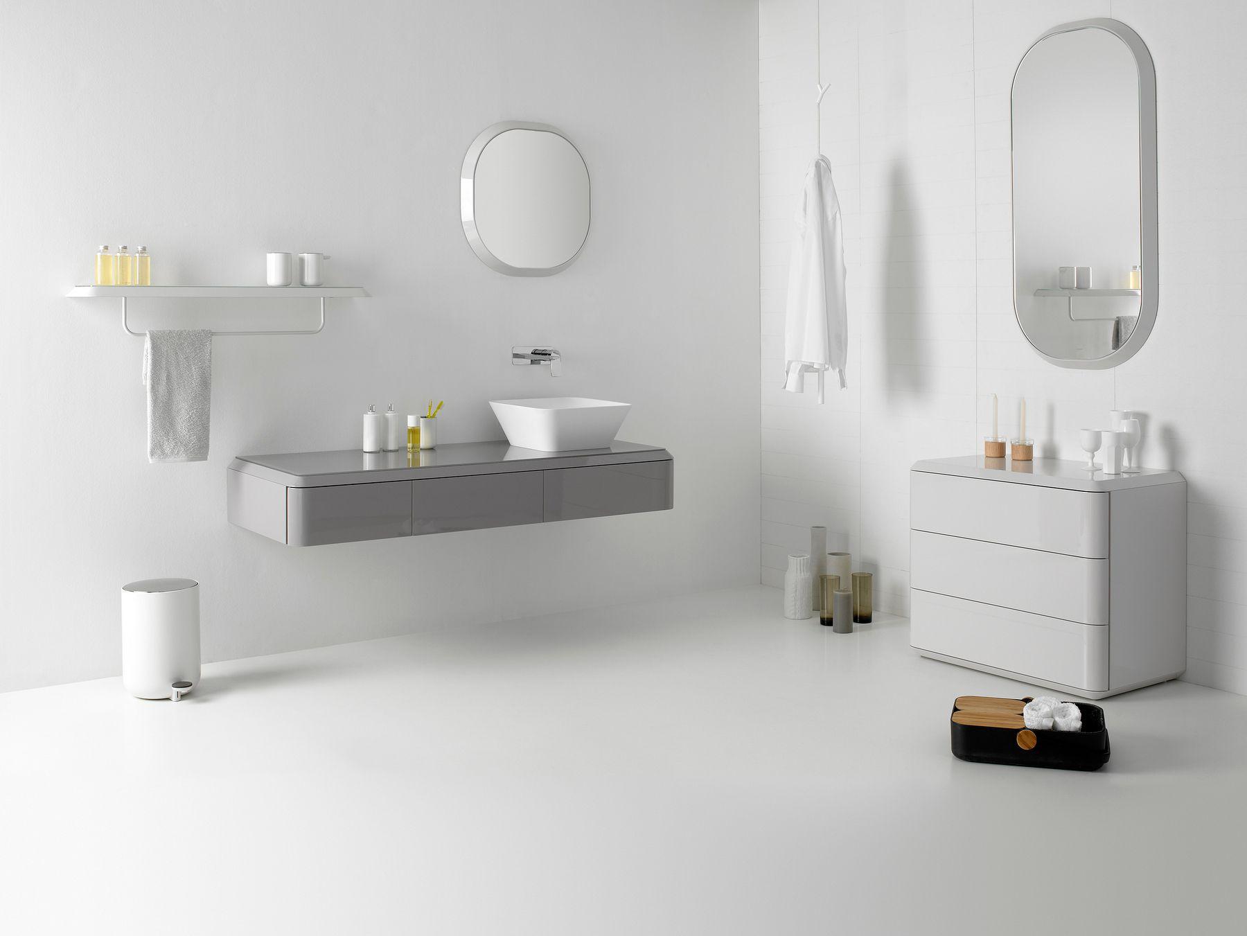 Fluent mobile lavabo by inbani design arik levy - Mobili lavabo sospesi ...