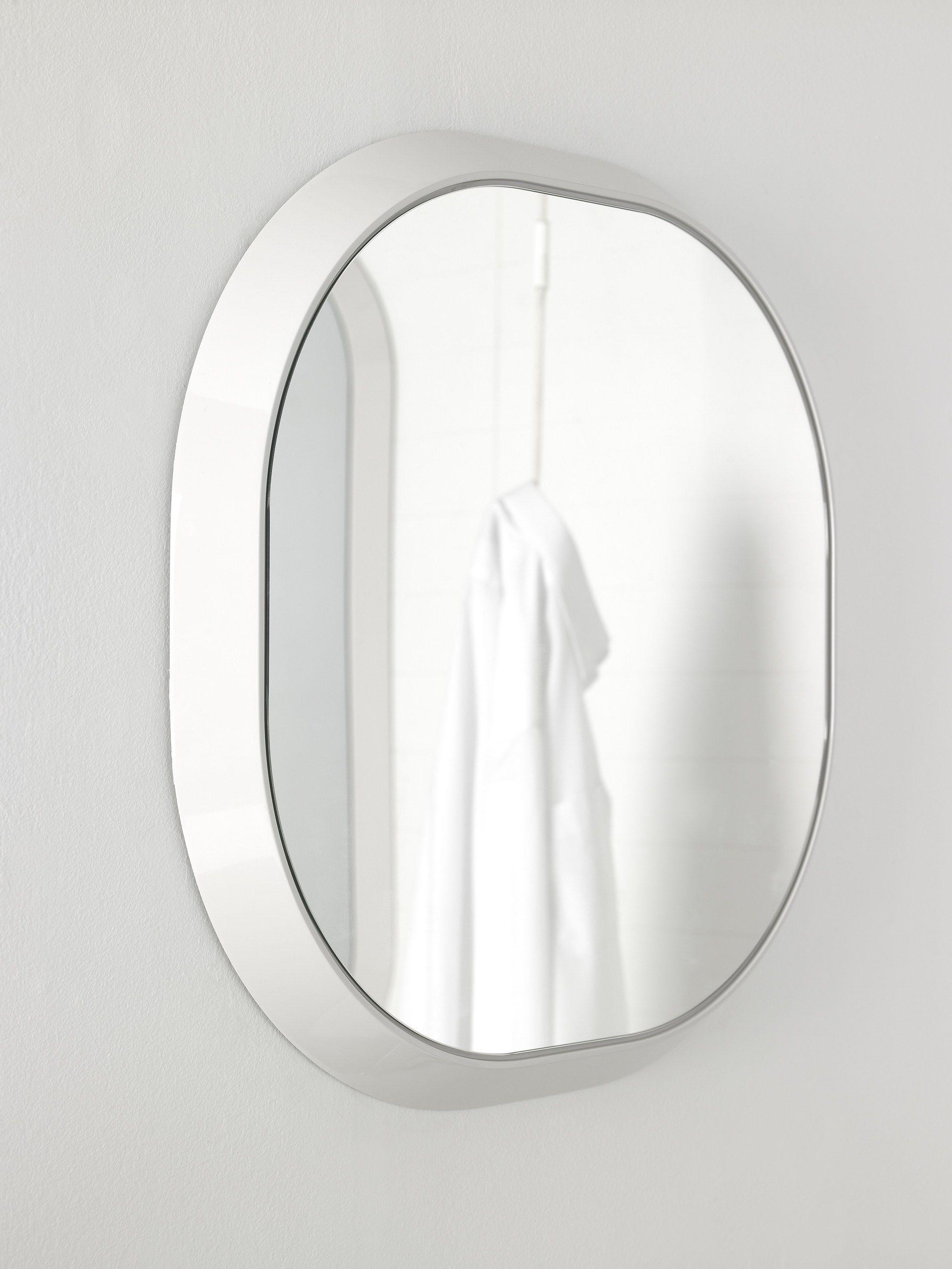 Fluent specchio rotondo by inbani design arik levy - Specchio bagno rotondo ...