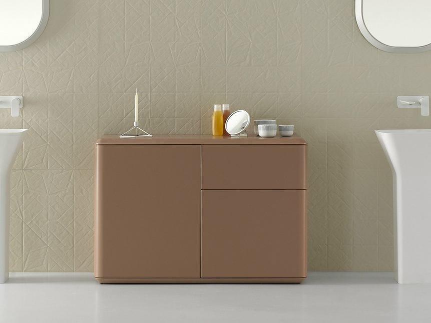 Fluent meuble pour salle de bain by inbani design arik levy for Meuble salle de bain allemagne
