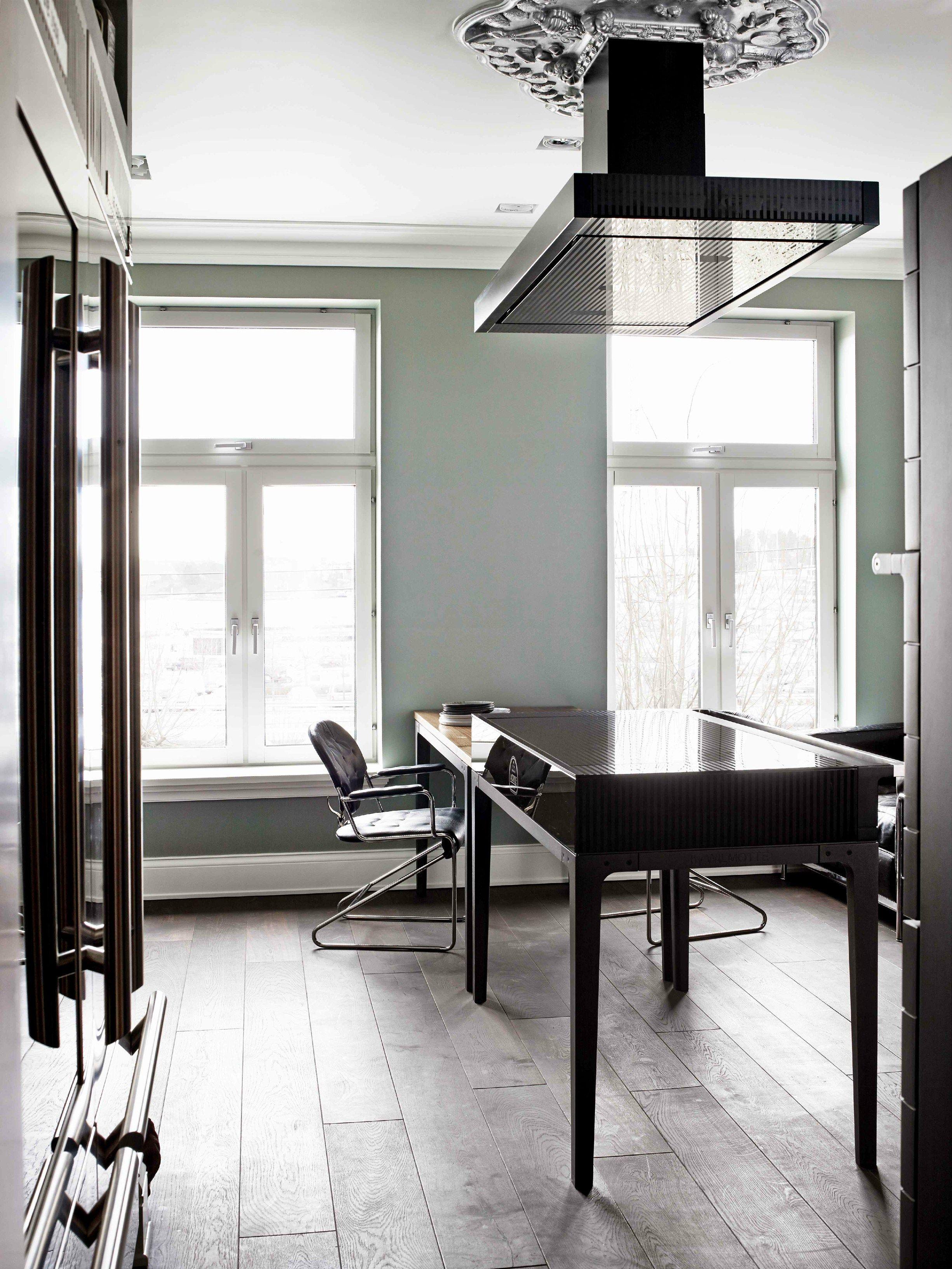 Cucina a libera installazione professionale in acciaio for Cuisiniere design