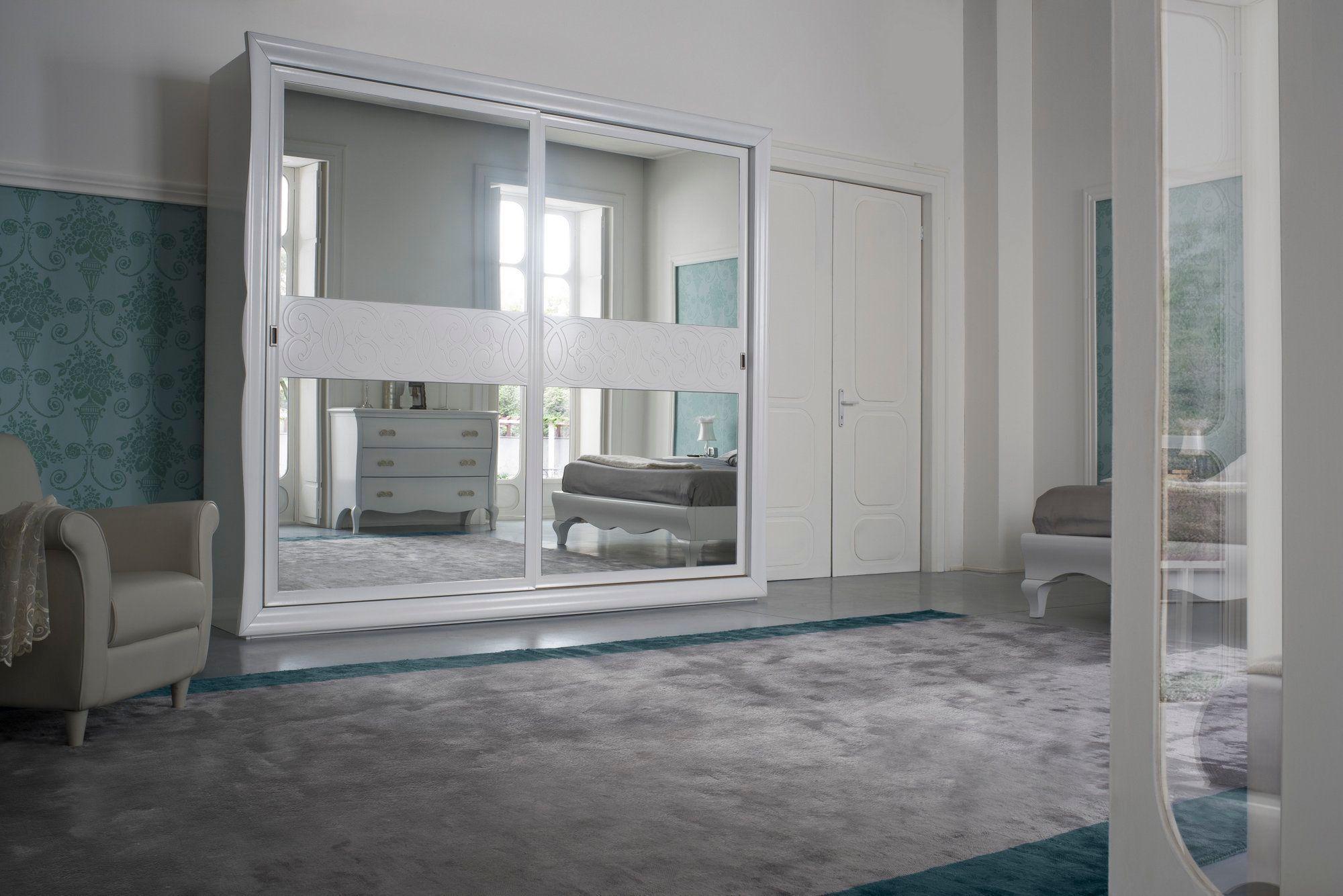 Symfonia armadio laccato by dall agnese design imago - Armadio ante scorrevoli a specchio ...