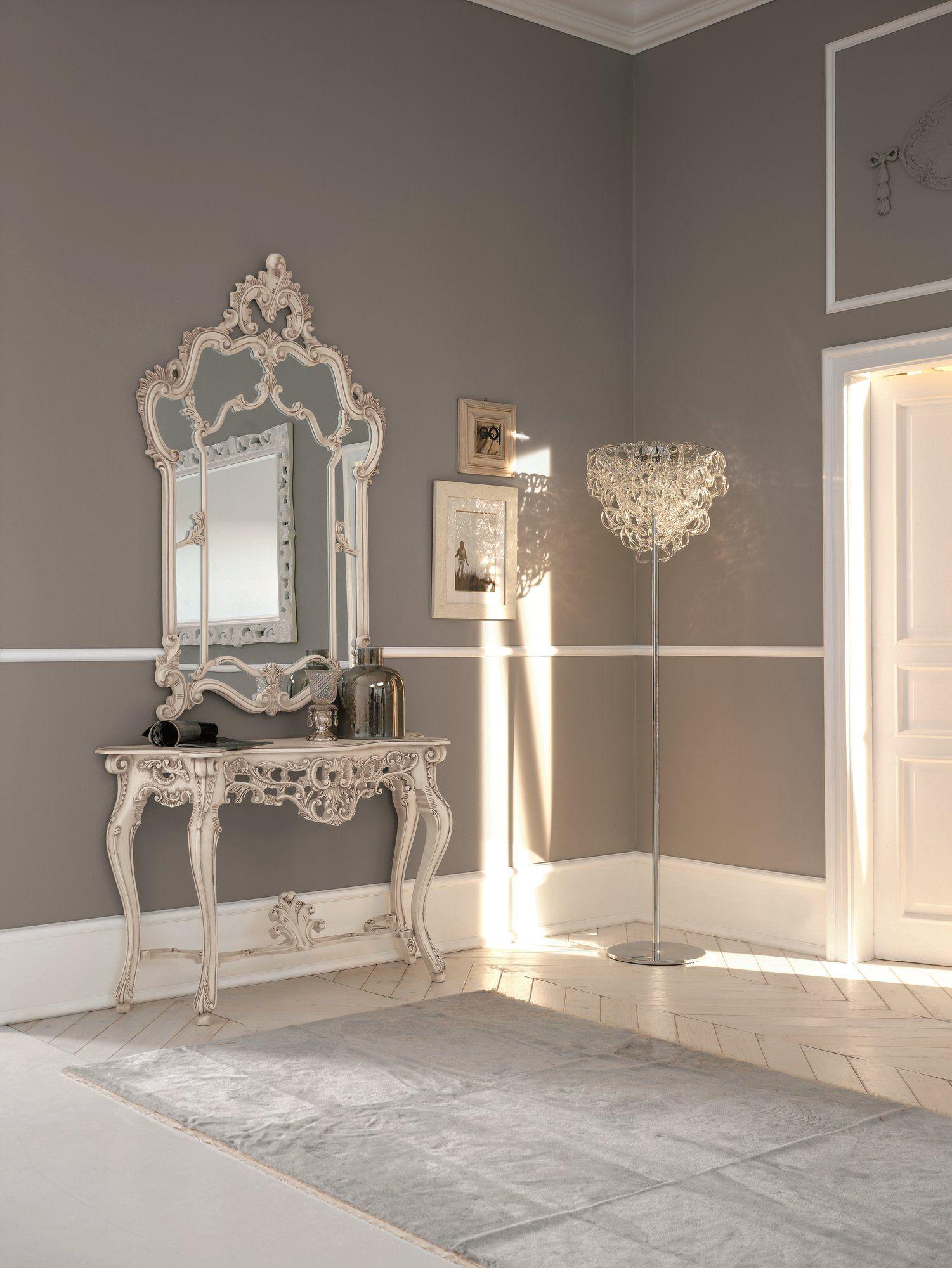 Susy specchio shabby chic by dall agnese design imago design massimo rosa - Parete shabby chic ...