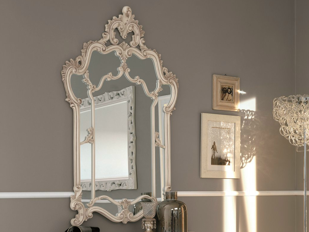 Susy specchio shabby chic by dall agnese design imago design massimo rosa - Specchio shabby chic ...