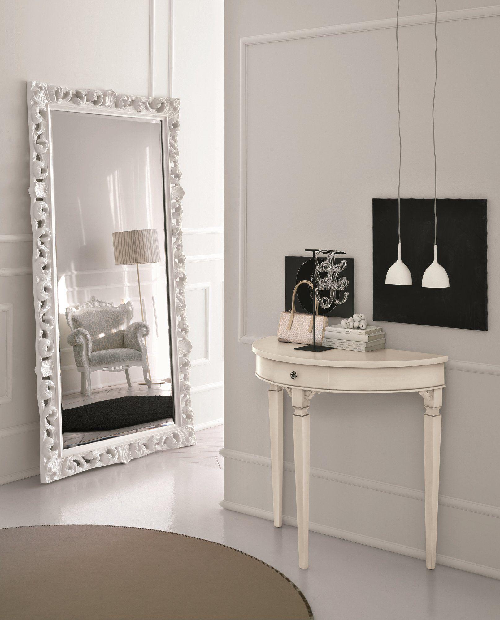 Miroir rectangulaire de style baroque bombo collection for Miroir baroque rectangulaire
