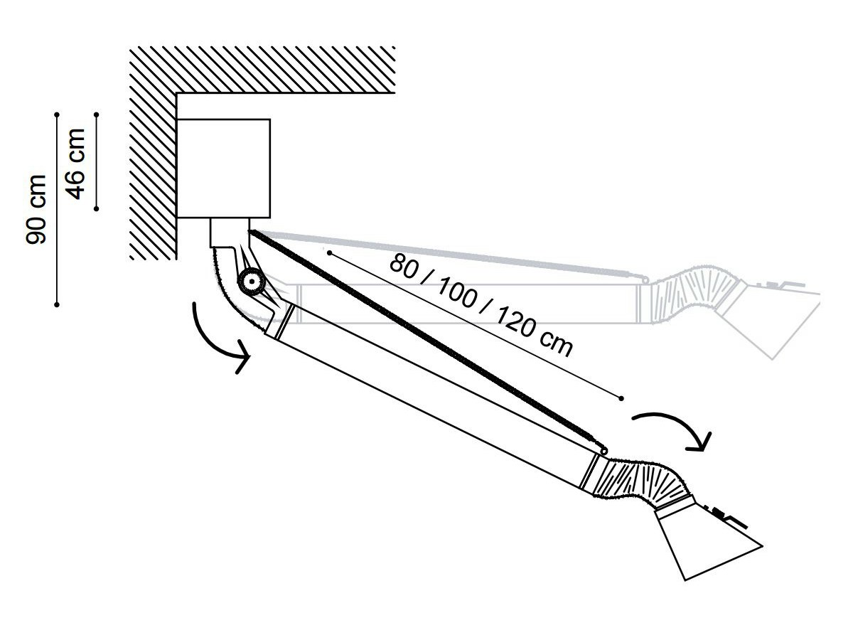 steel cooker hood mammut midi by minacciolo design silvio