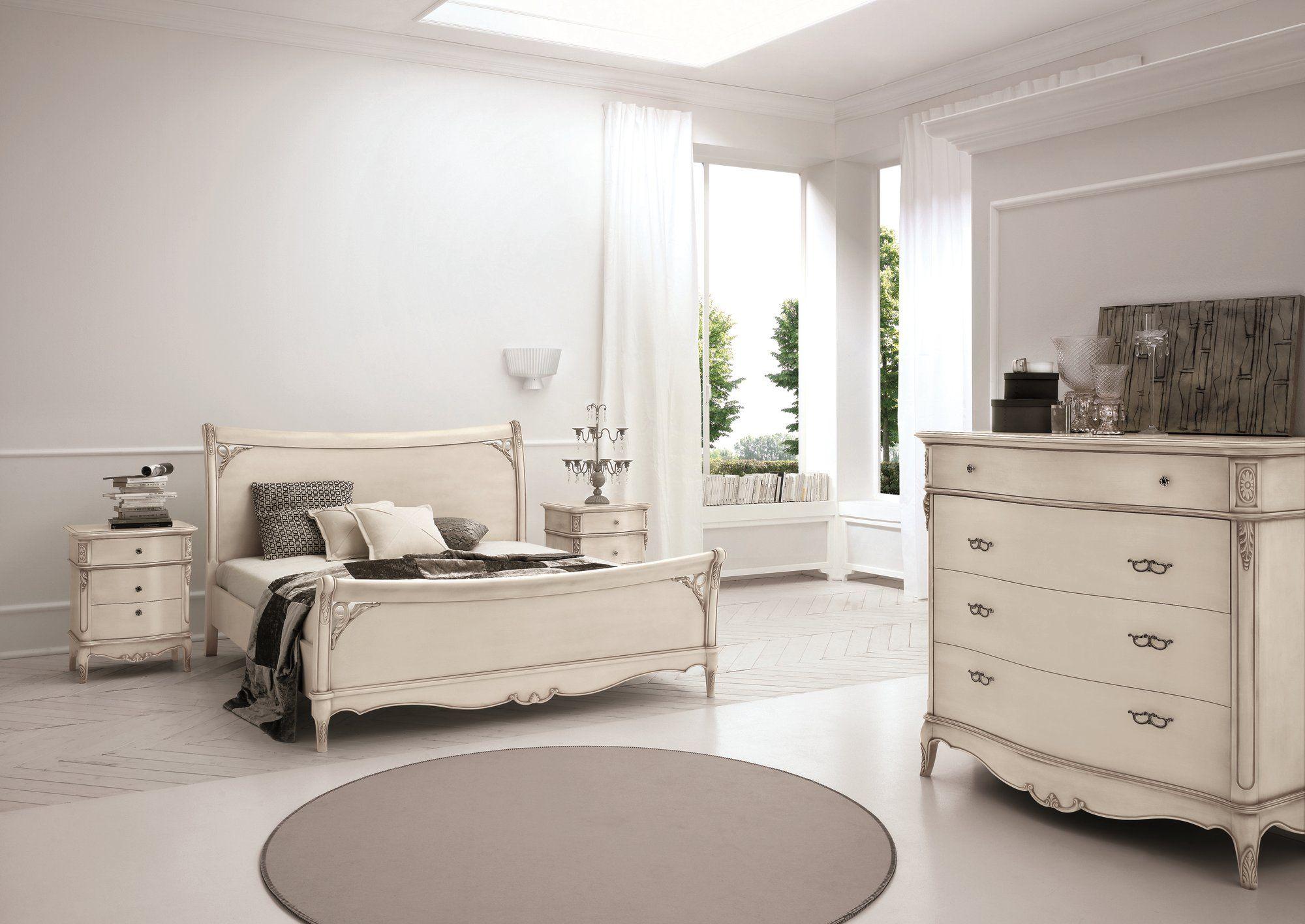 Nachttisch aus holz im landhausstil mit schubladen duca for Nachttisch landhausstil