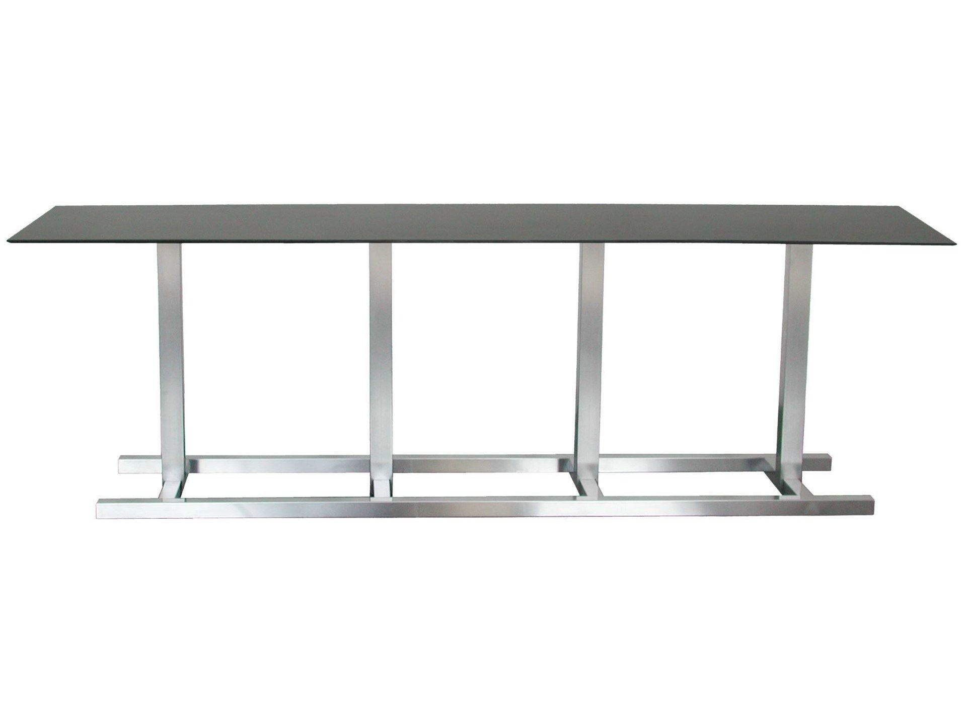 Table rectangulaire en acier inoxydable pour chr step 204 - Table en acier inoxydable ...