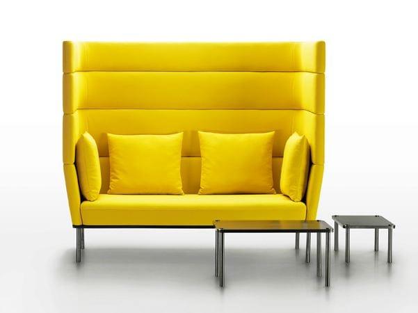 canap 2 places avec dossier haut collection element by. Black Bedroom Furniture Sets. Home Design Ideas