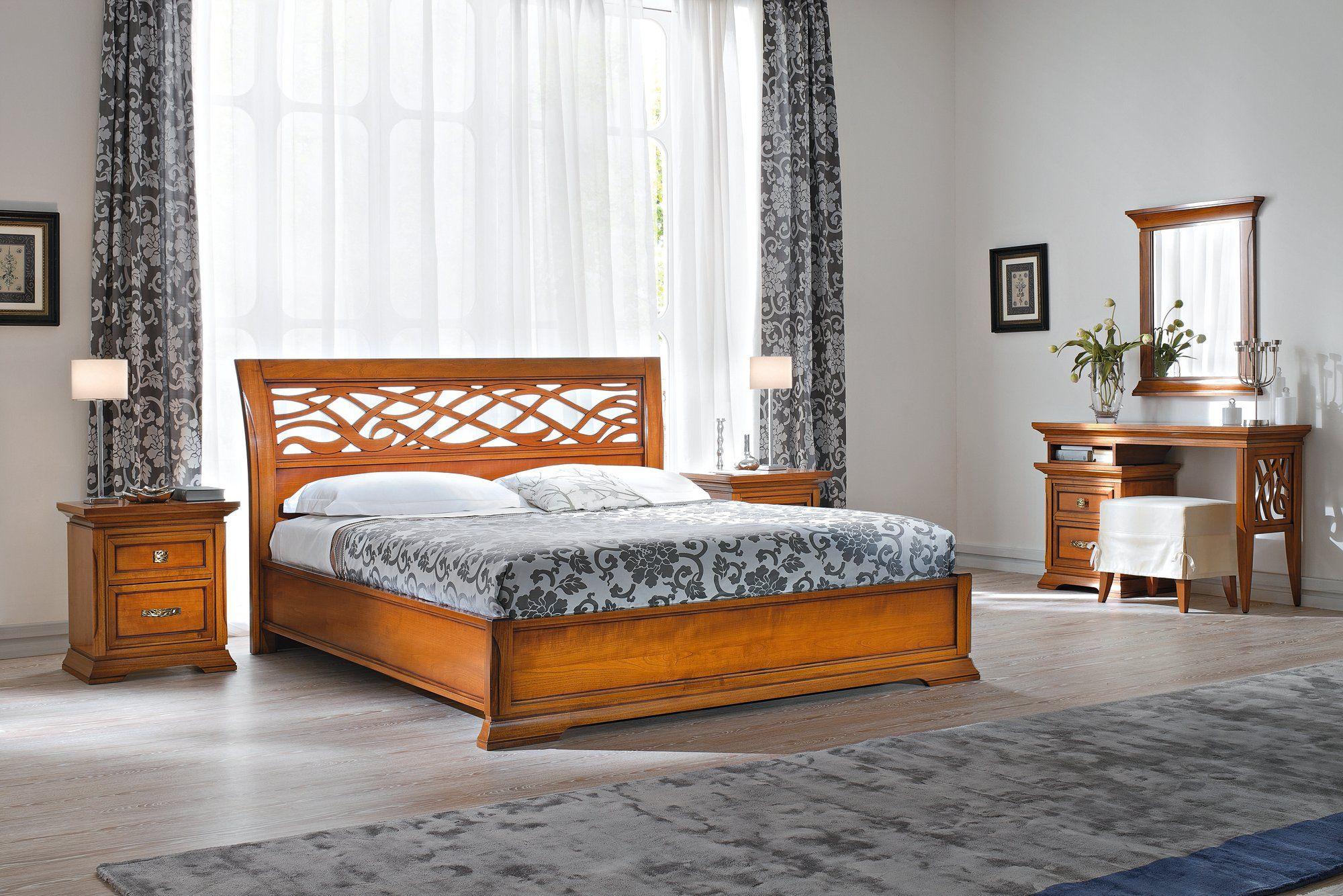 Bohemia letto contenitore by dall agnese design gianni - Letto in ciliegio ...