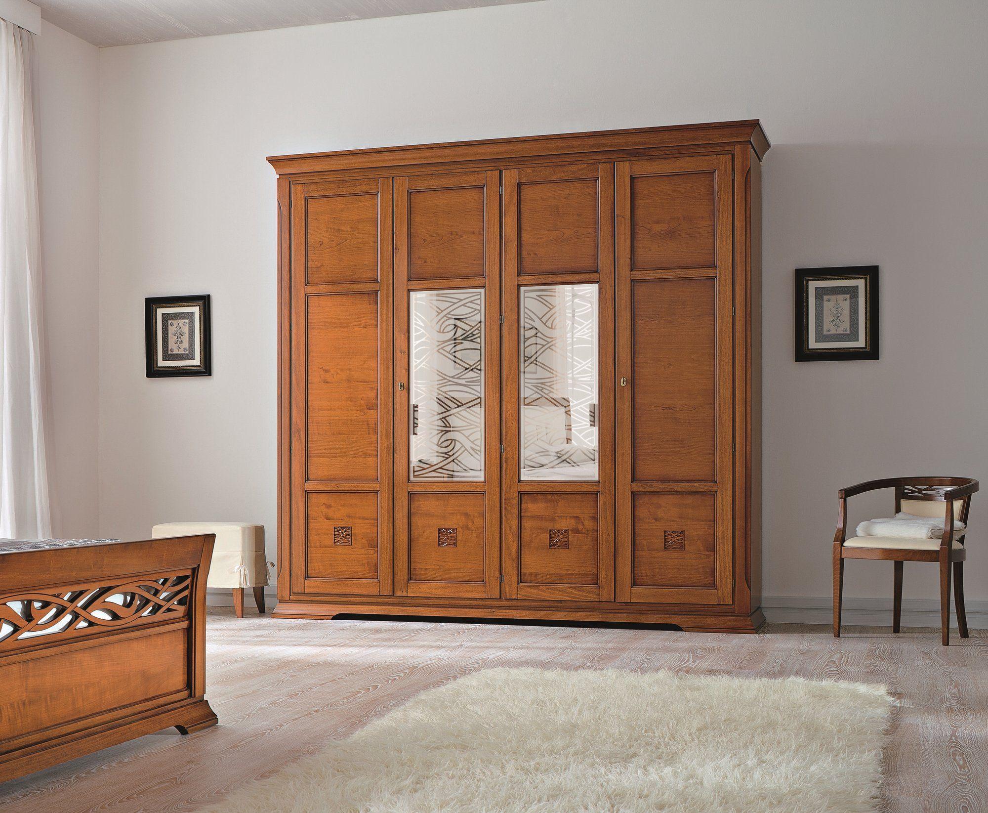 Bohemia armadio con specchio by dall agnese design gianni - Armadio ciliegio specchio ...