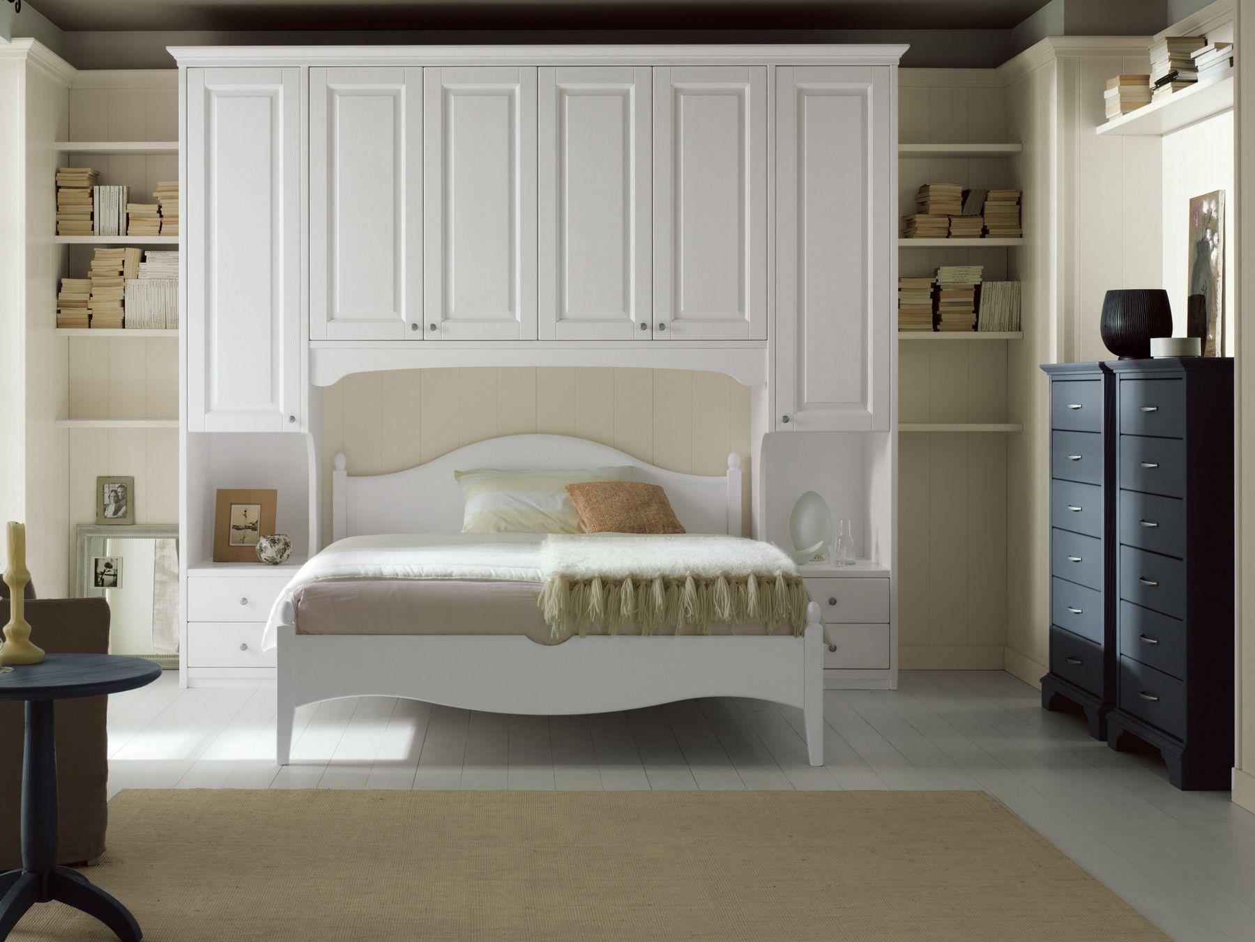 Camera da letto in abete NUOVO MONDO N10 by Scandola Mobili