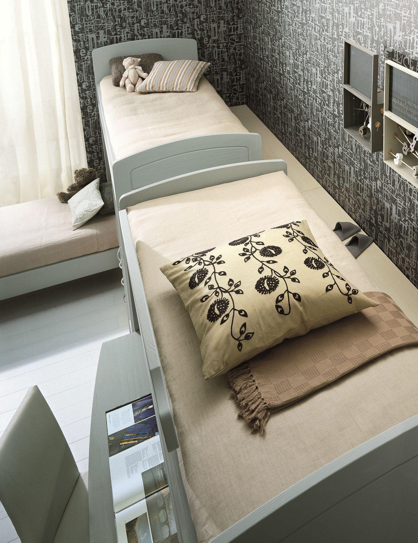 schlafzimmer mit hochbett für jungen/mädchen nuovo mondo n16
