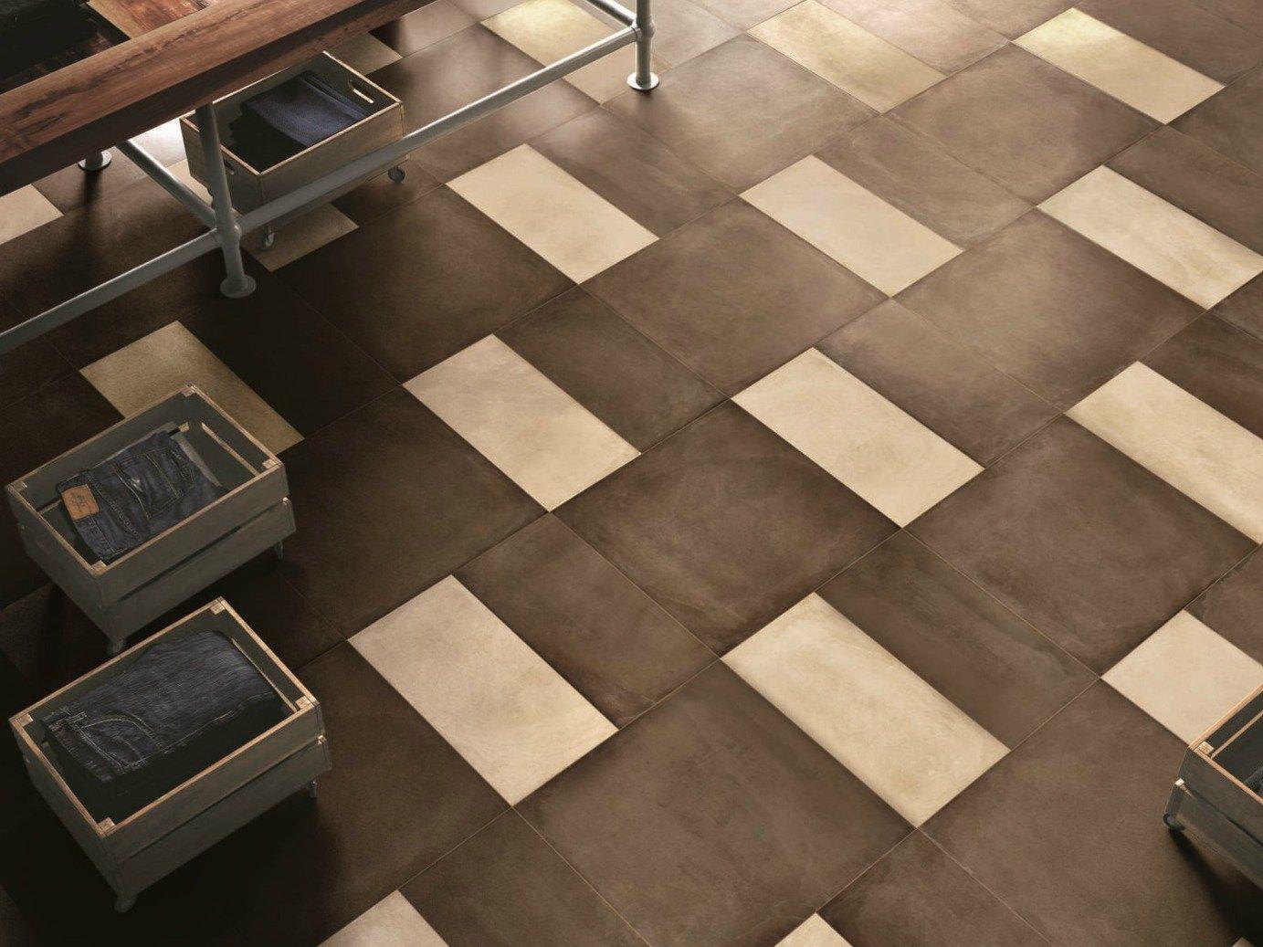 porcelain stoneware wall floor tiles with concrete effect. Black Bedroom Furniture Sets. Home Design Ideas