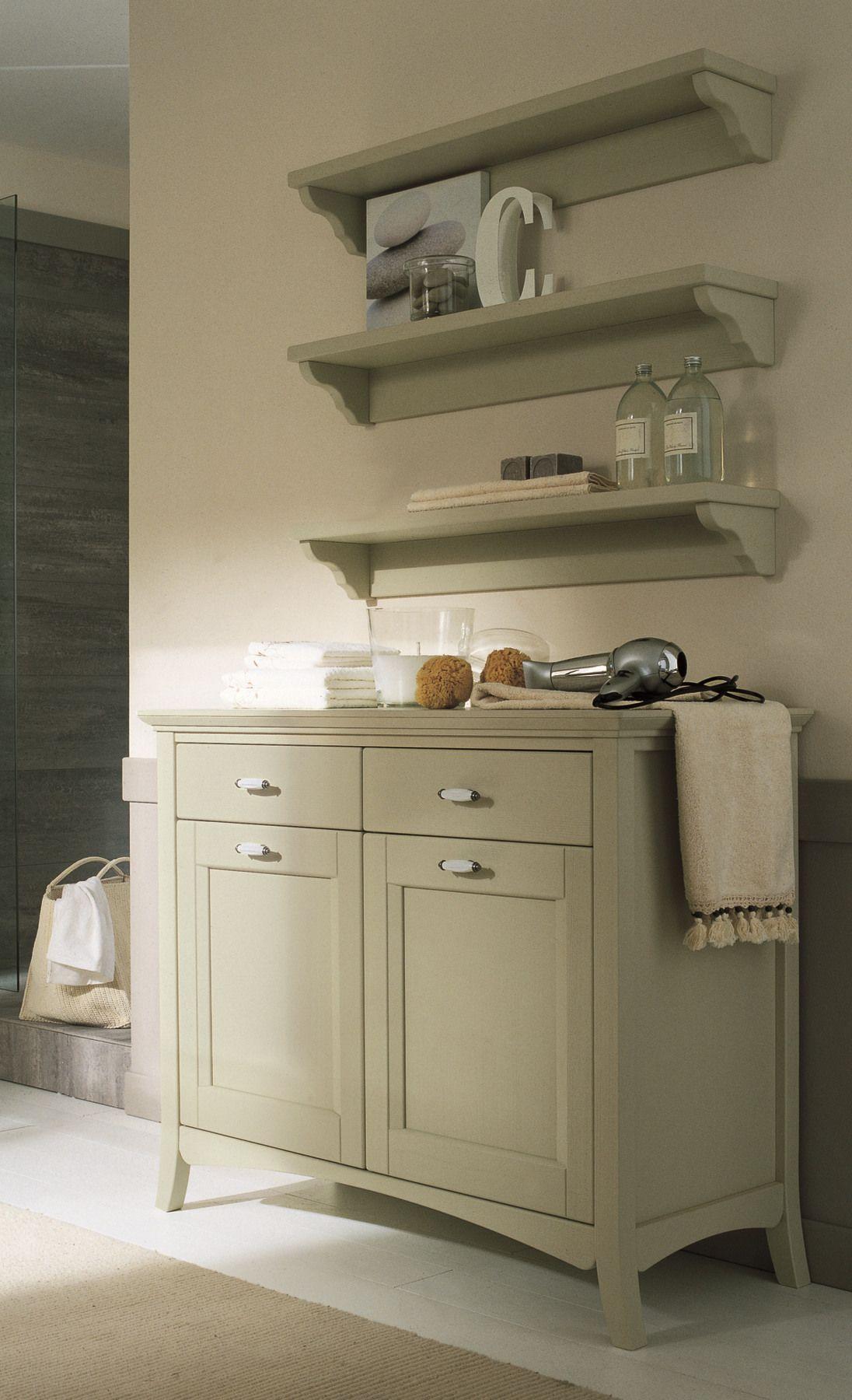 Mobili per bagno legno massello design casa creativa e - Mobili bagno in legno ...