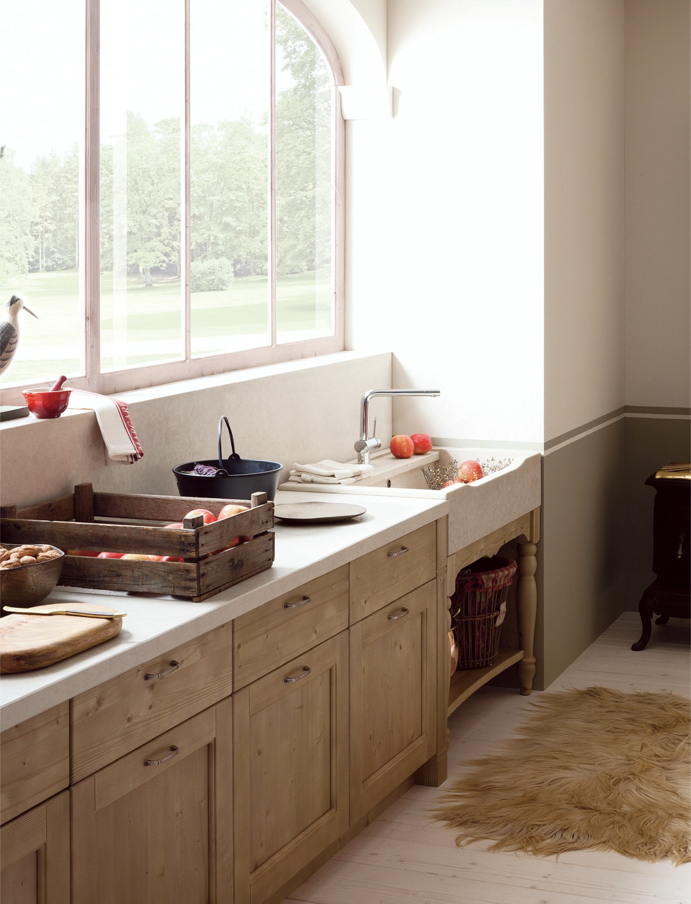 Stunning Mobili Rustici Per Cucina Images - Ameripest.us ...