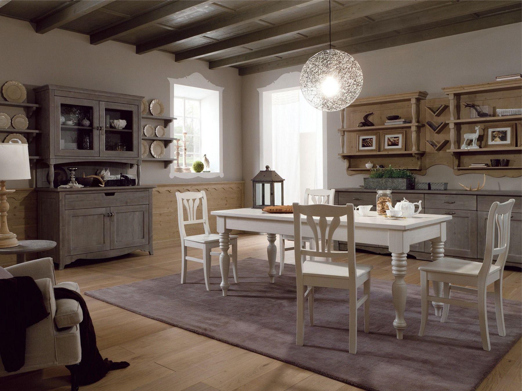 Cucina in stile rustico tabi t04 by scandola mobili - Cucine in stile rustico ...