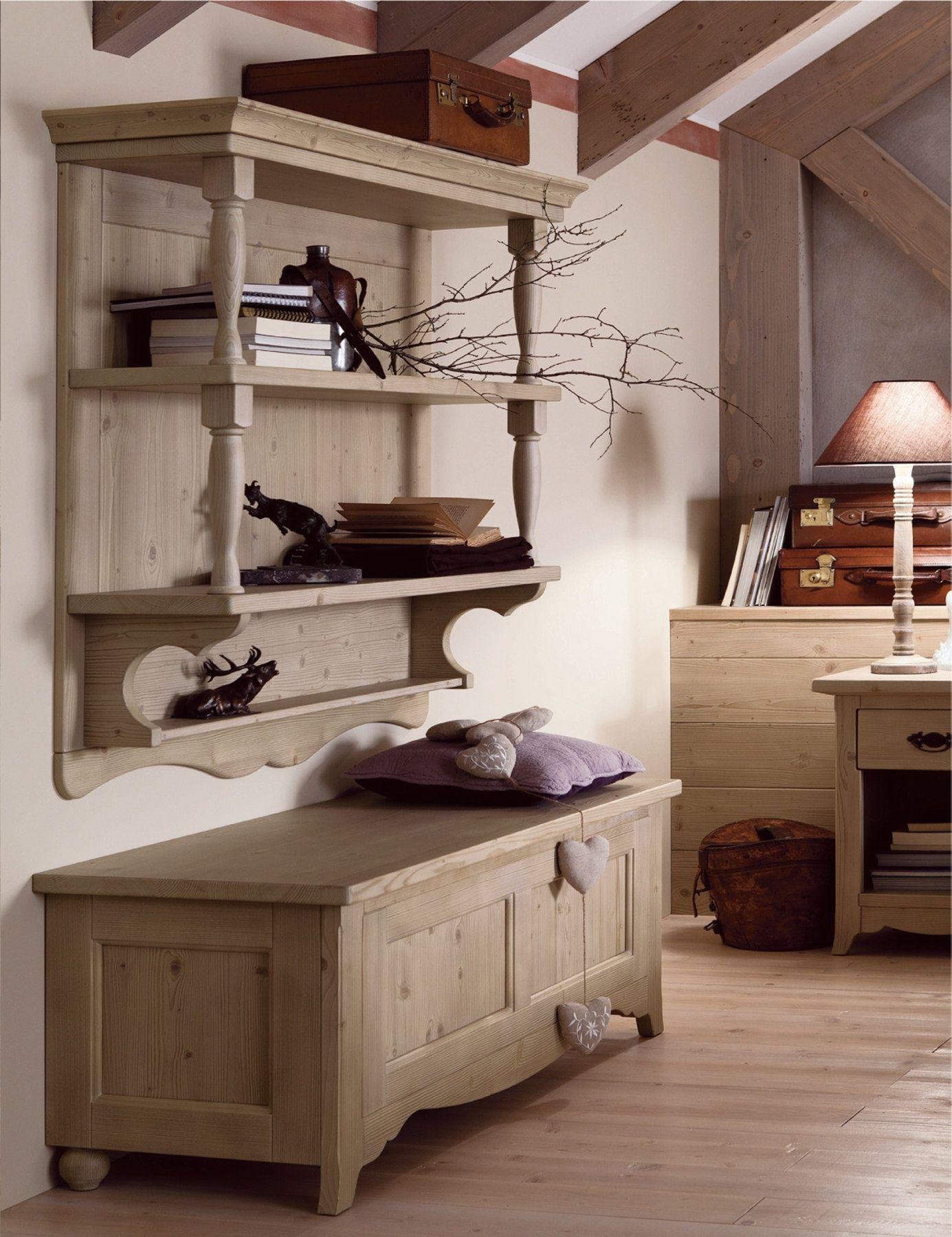 Camera da letto in legno TABIÀ T06 by Scandola Mobili