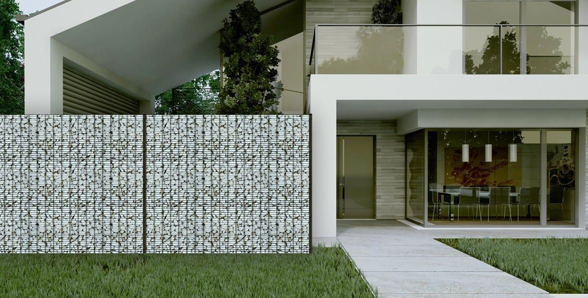cl ture grillag e modulable en acier zenturo secure by. Black Bedroom Furniture Sets. Home Design Ideas