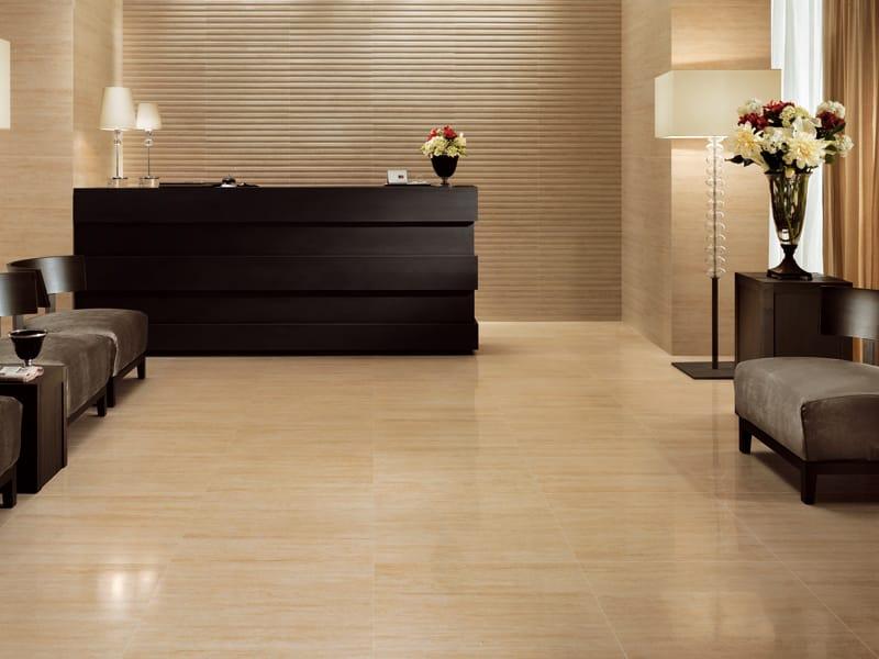 Revestimiento de pared suelo de gres porcel nico efecto - Suelo gres porcelanico ...