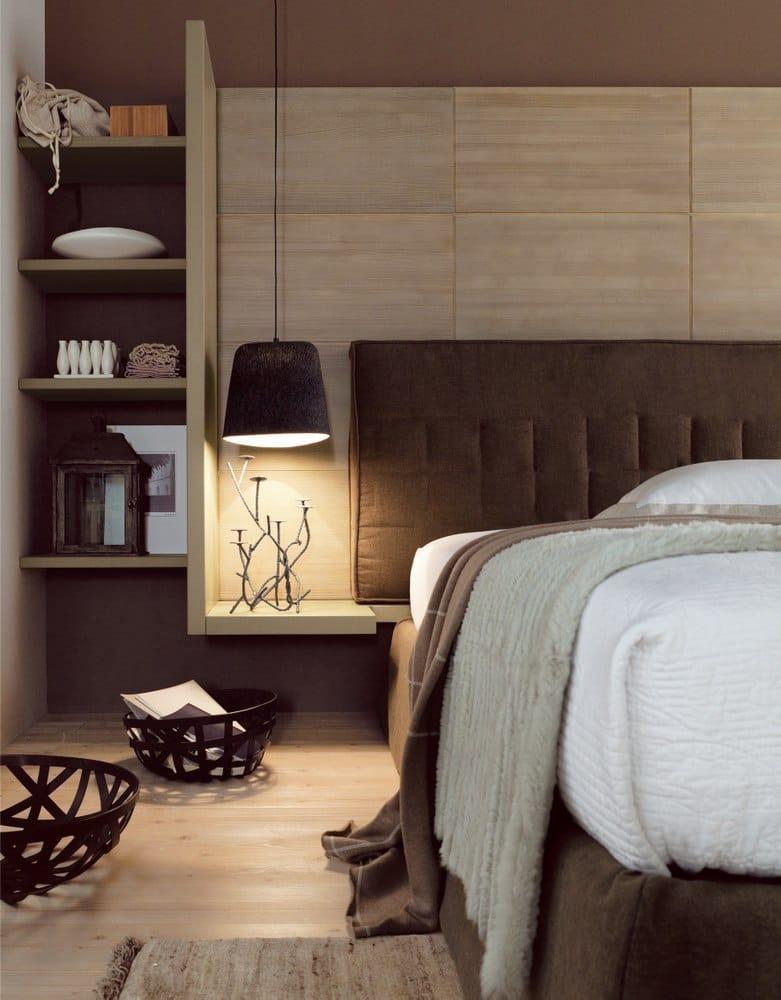 Camera da letto in abete in stile moderno nuovo mondo n09 for Scandola mobili