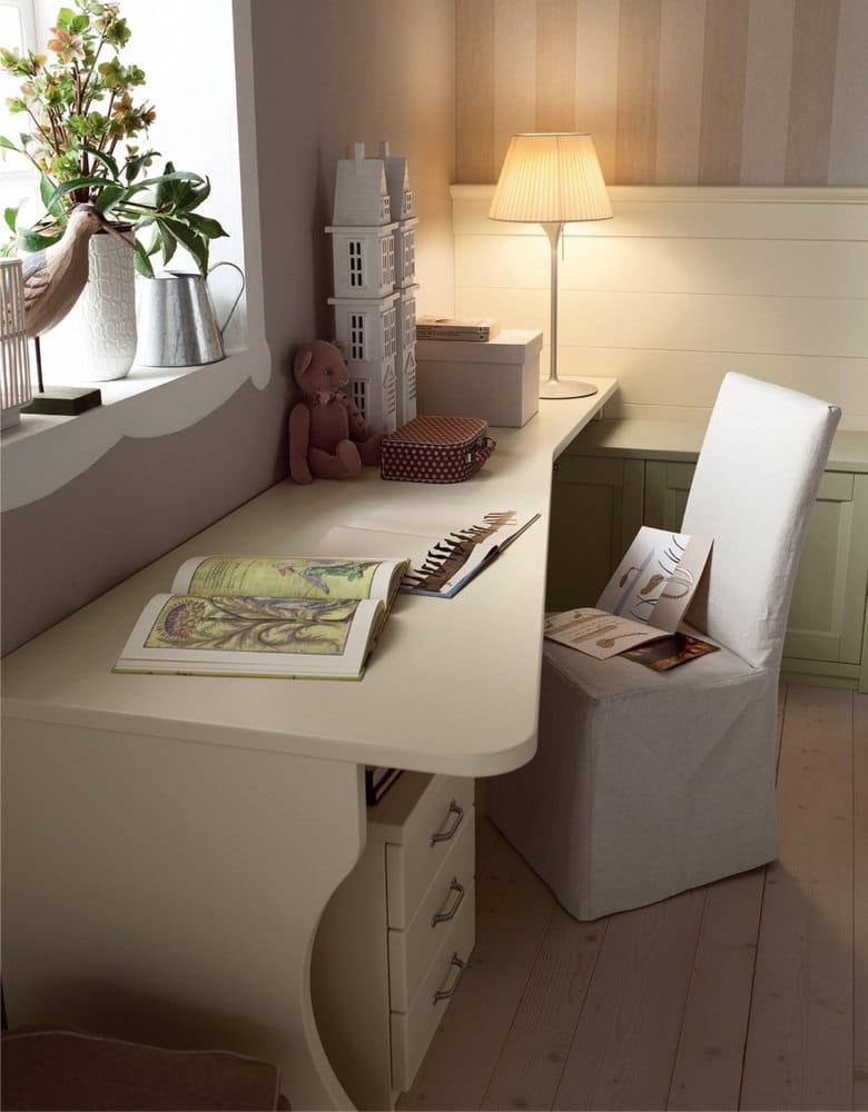 Camera da letto in legno massello NUOVO MONDO N12 by Scandola Mobili