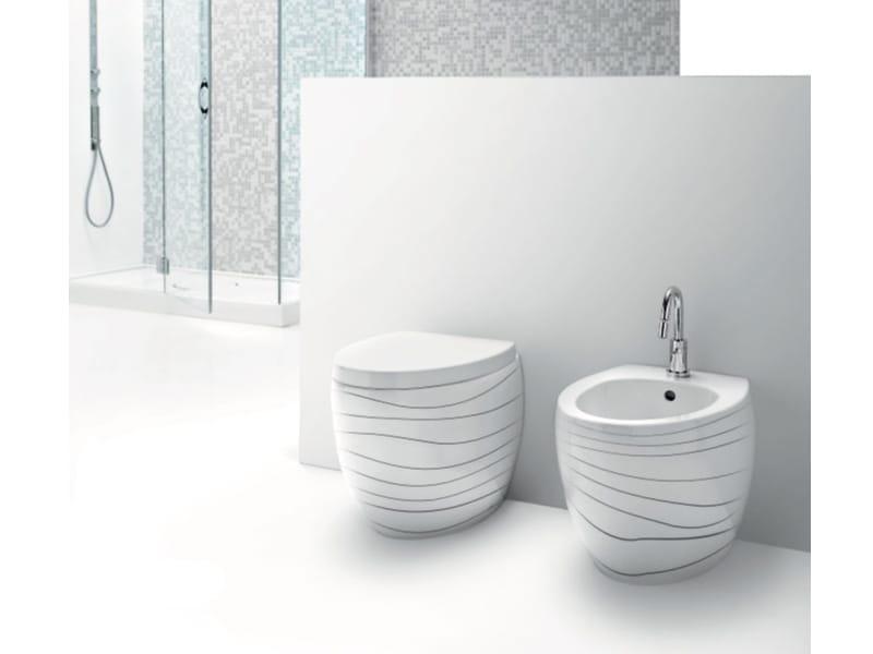 Arredo Bagno Pleto In Ceramica OVAL By A E T Italia