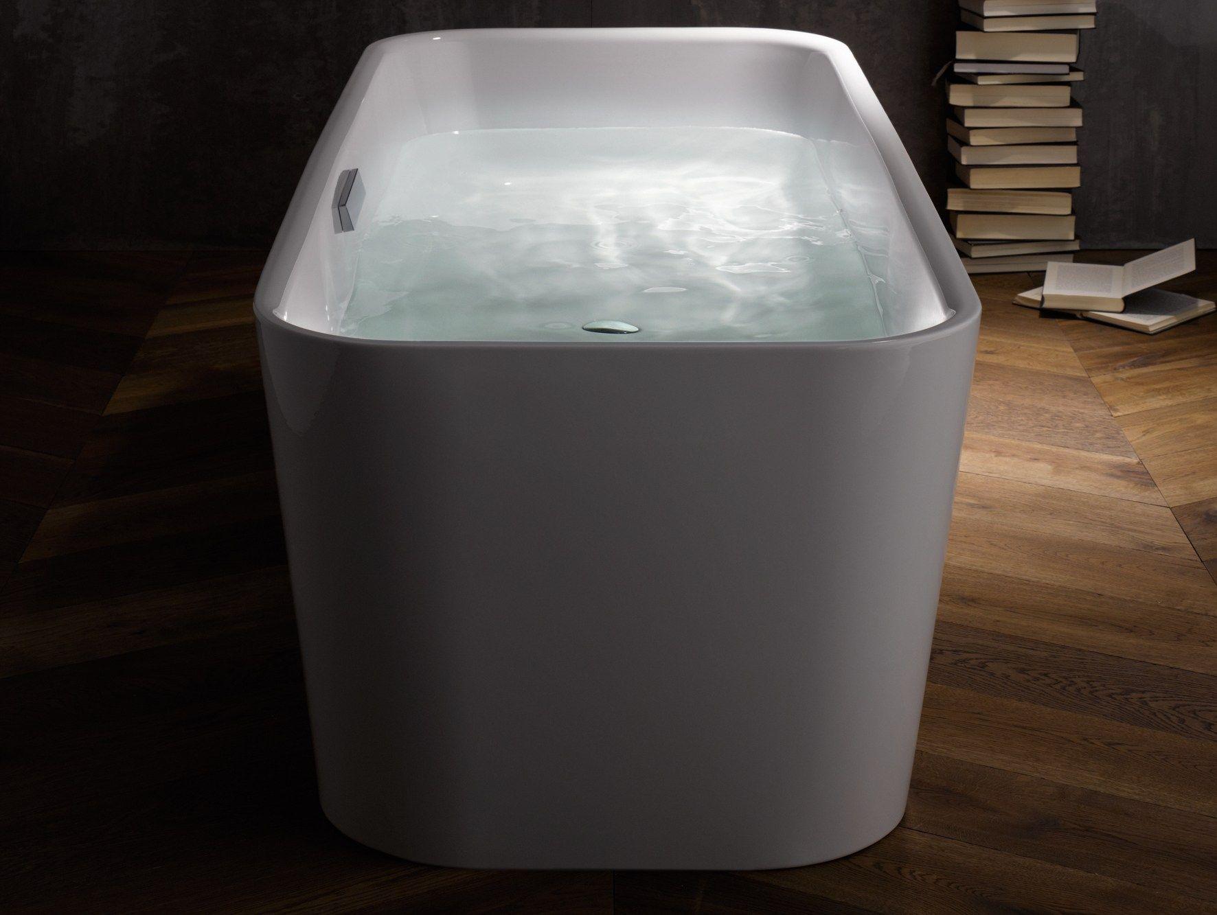 Vasca da bagno centro stanza in acciaio smaltato betteart by bette design tesseraux partner - Vasche da bagno in acciaio smaltato ...