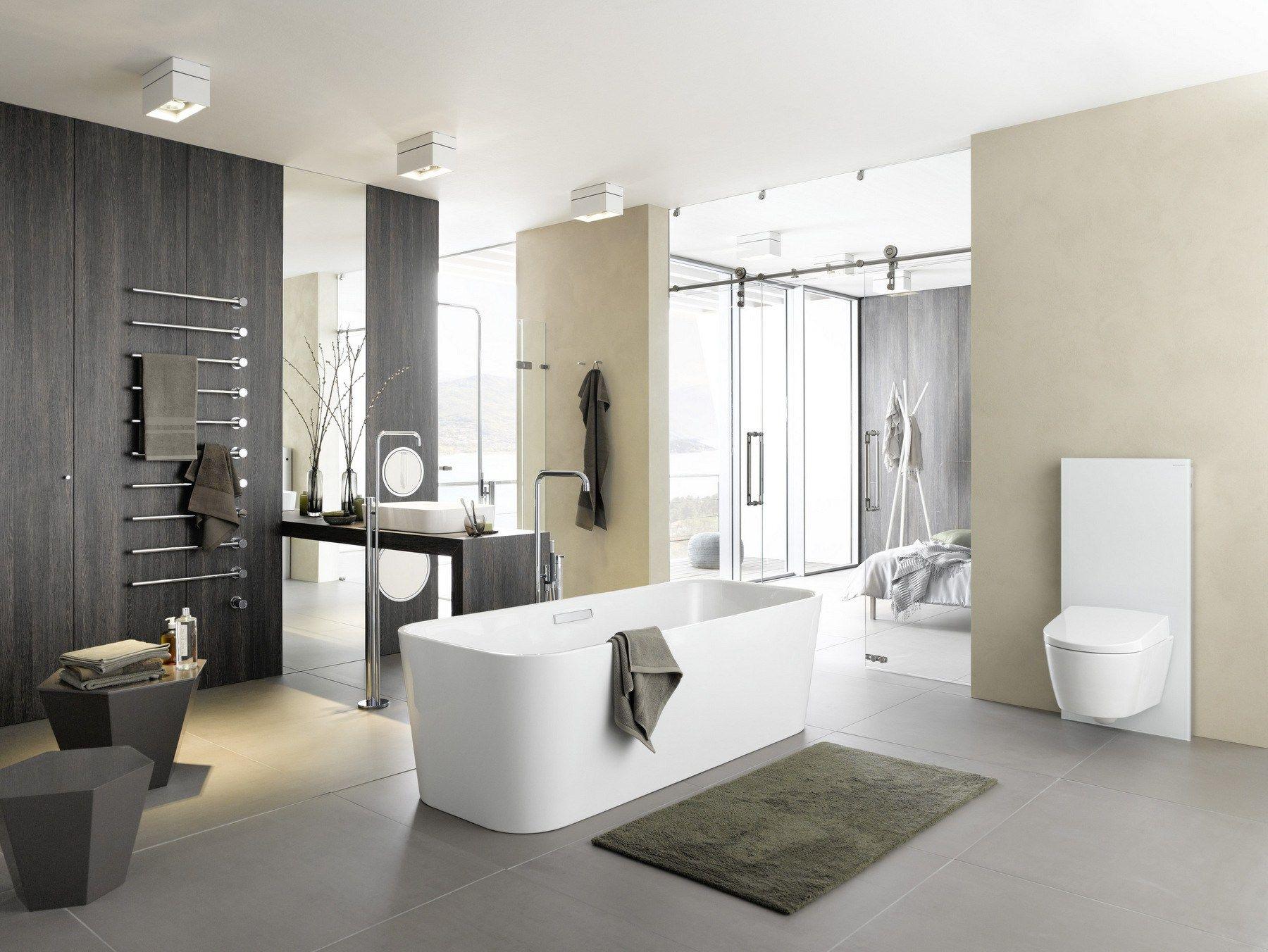 freistehende badewanne aus emailliertem stahl betteart kollektion freistehende badewannen by. Black Bedroom Furniture Sets. Home Design Ideas