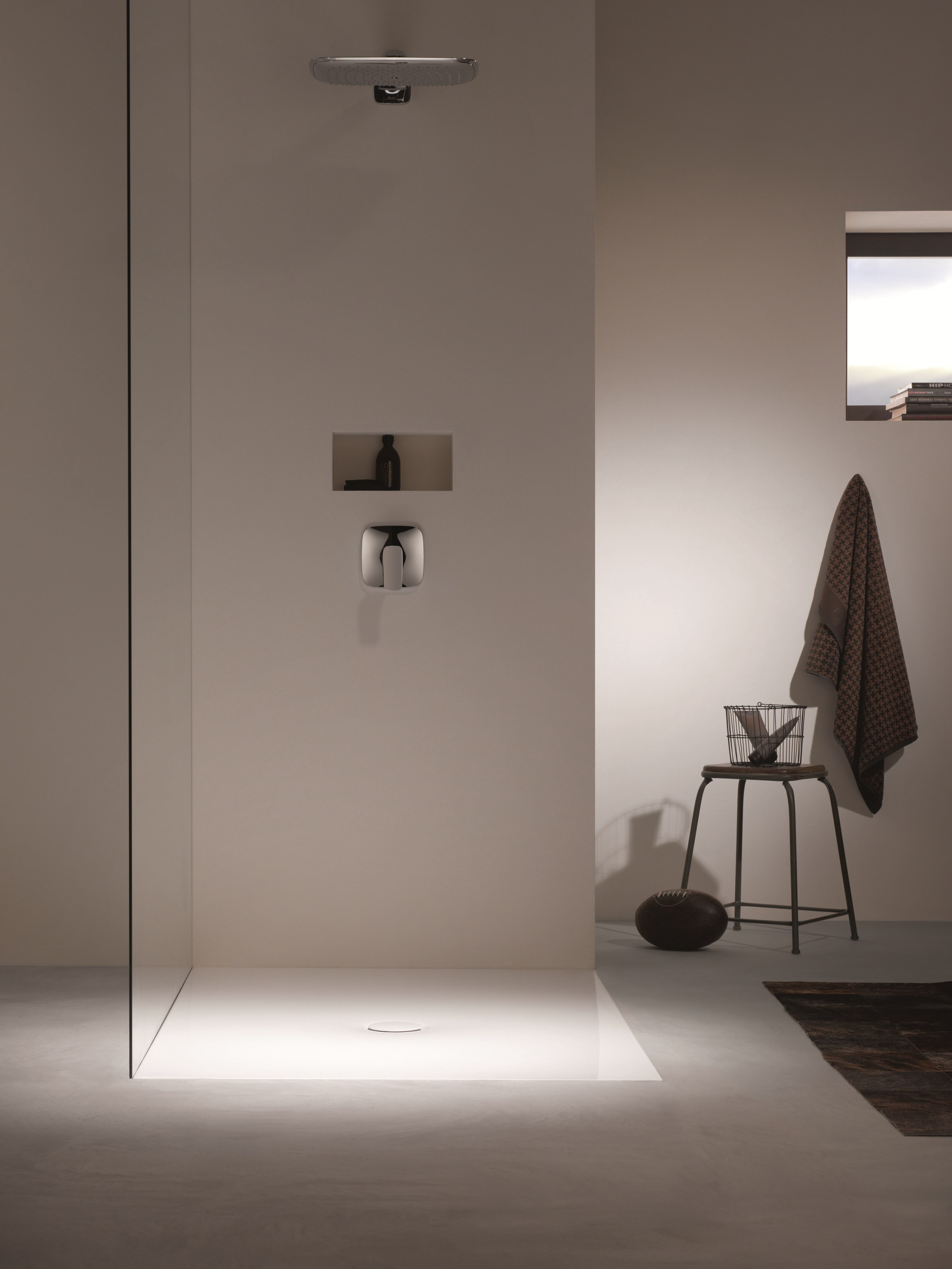 bettefloor quadratische duschwanne by bette design. Black Bedroom Furniture Sets. Home Design Ideas