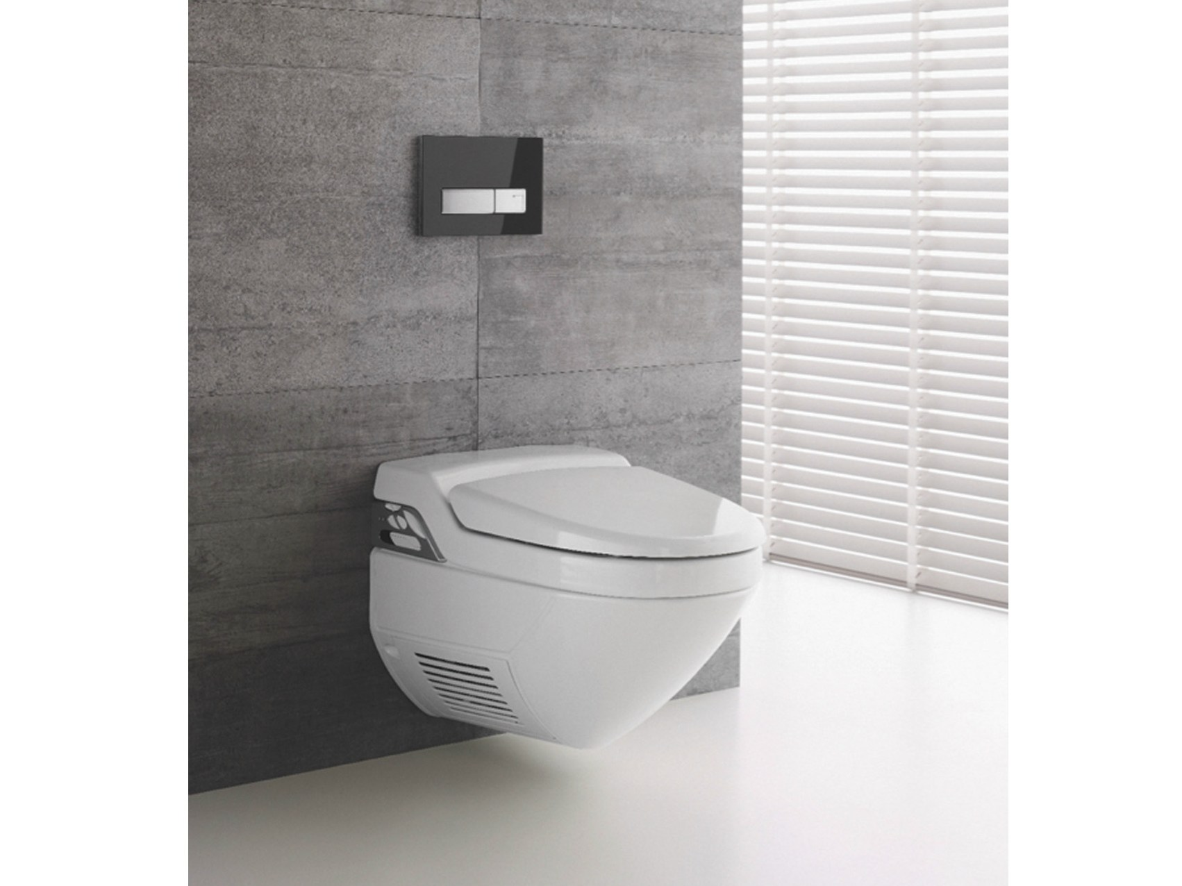 wc bidet in ceramica aquaclean 8000 plus collezione aquaclean by geberit italia. Black Bedroom Furniture Sets. Home Design Ideas