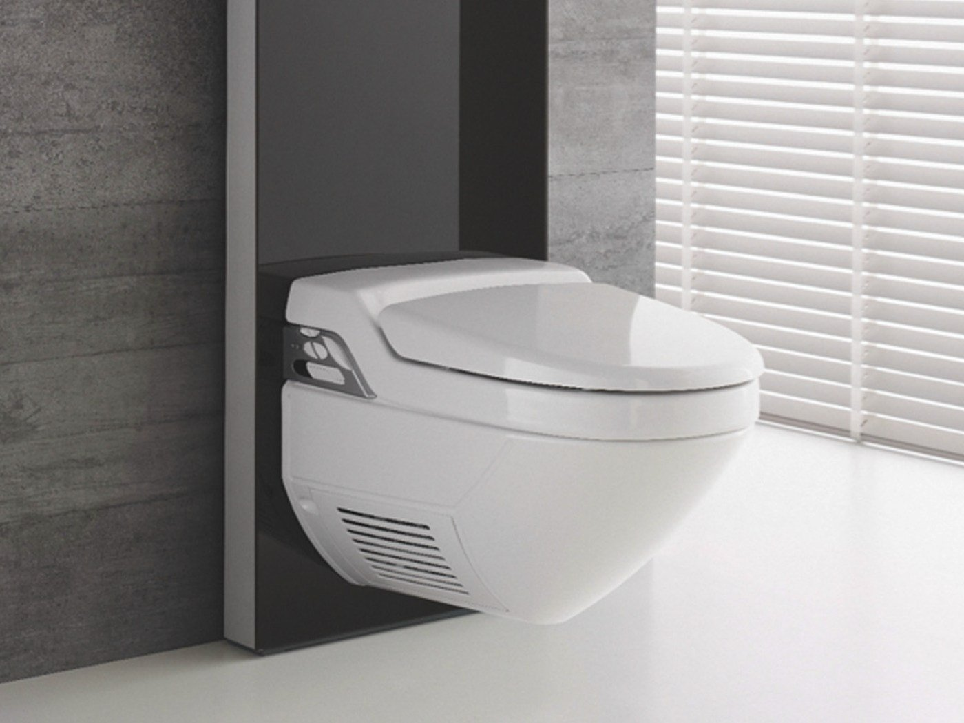 wc bidet in ceramica aquaclean 8000 plus collezione. Black Bedroom Furniture Sets. Home Design Ideas