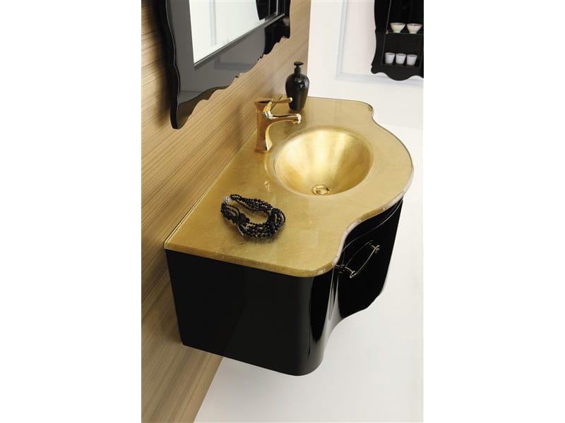 Mobile lavabo sospeso dec d05 by legnobagno - Legnobagno prezzi ...