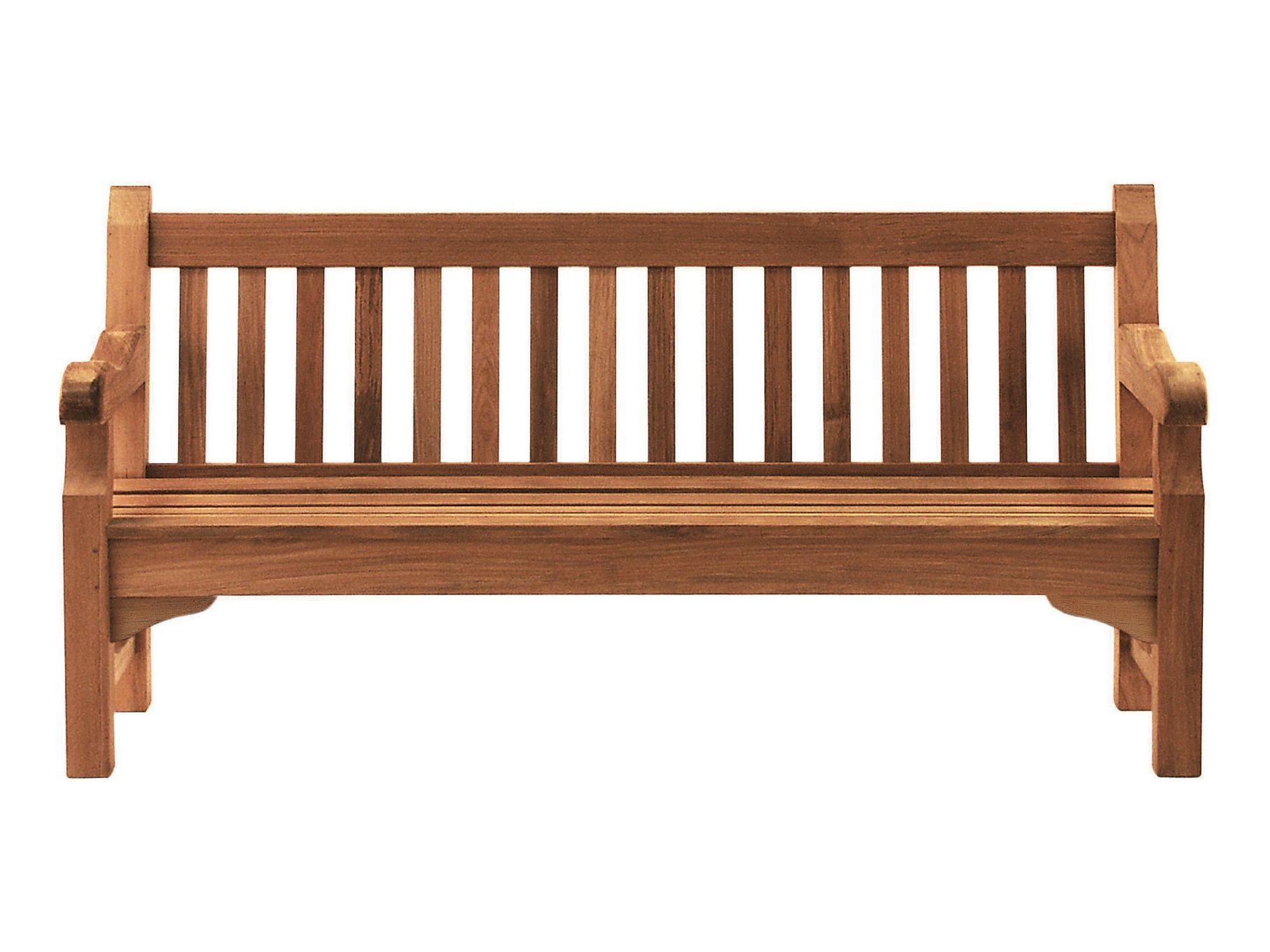 banc de jardin en teck avec accoudoirs exbury by tectona. Black Bedroom Furniture Sets. Home Design Ideas
