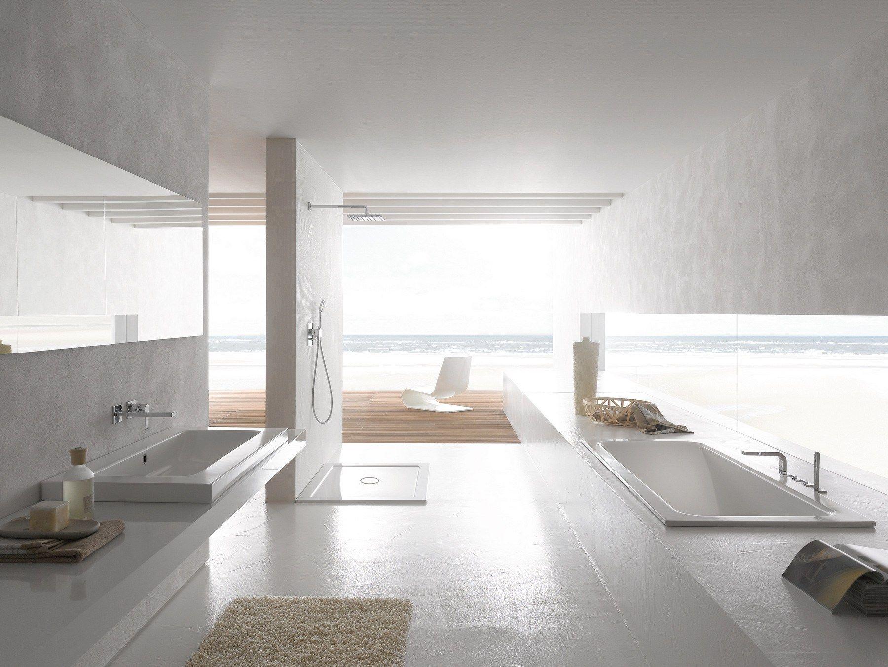 vasca da bagno rettangolare da incasso betteone relax by bette design tesseraux partner