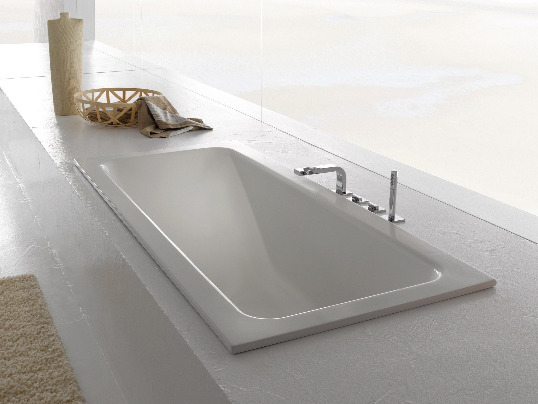 rechteckige einbau badewanne betteone relax by bette. Black Bedroom Furniture Sets. Home Design Ideas