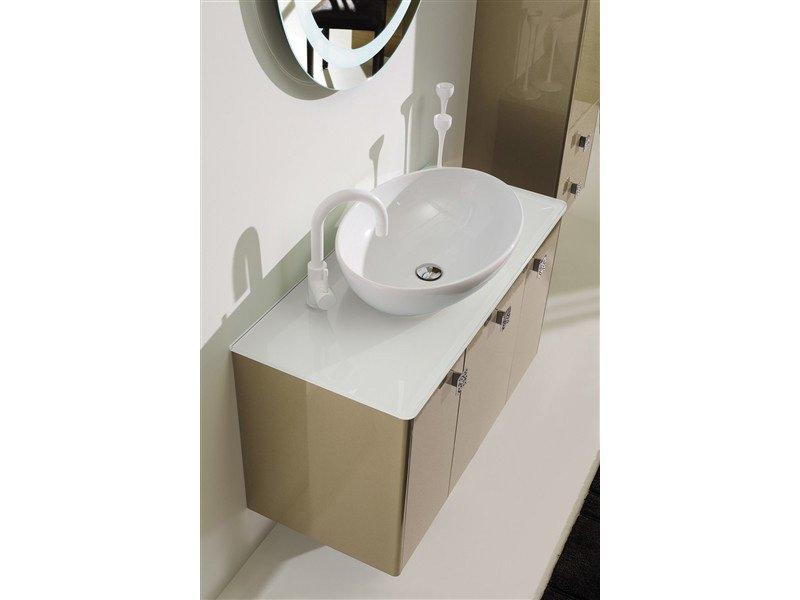 Mobile lavabo dec d13 collezione dec by legnobagno for Lavabo softly