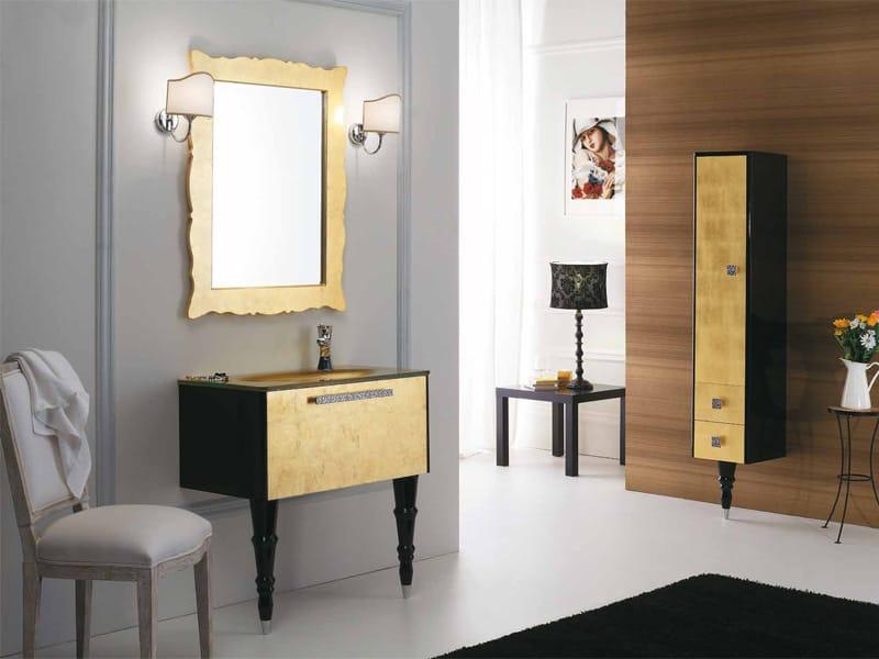 Mobile lavabo laccato con cassetti dec d16 by legnobagno - Legnobagno prezzi ...