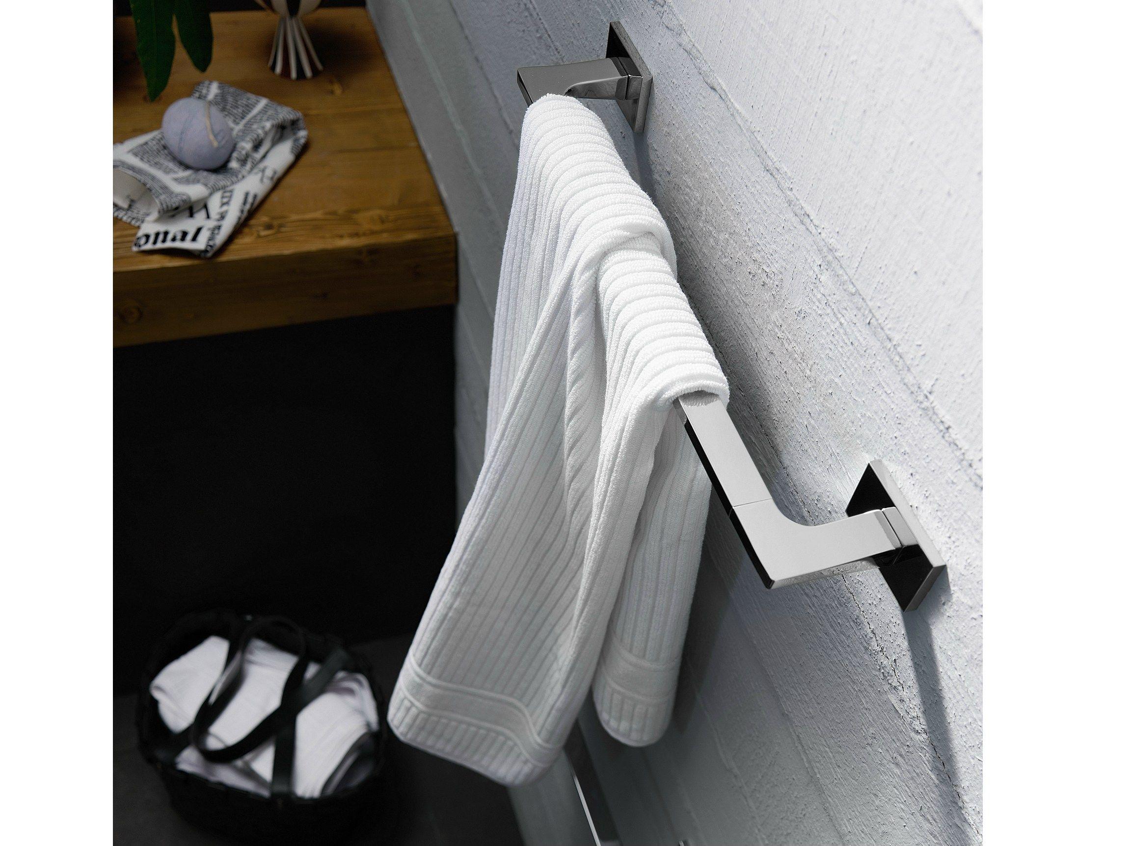 Cube porta asciugamani by carlo nobili rubinetterie design piet billekens - Nobili accessori bagno ...