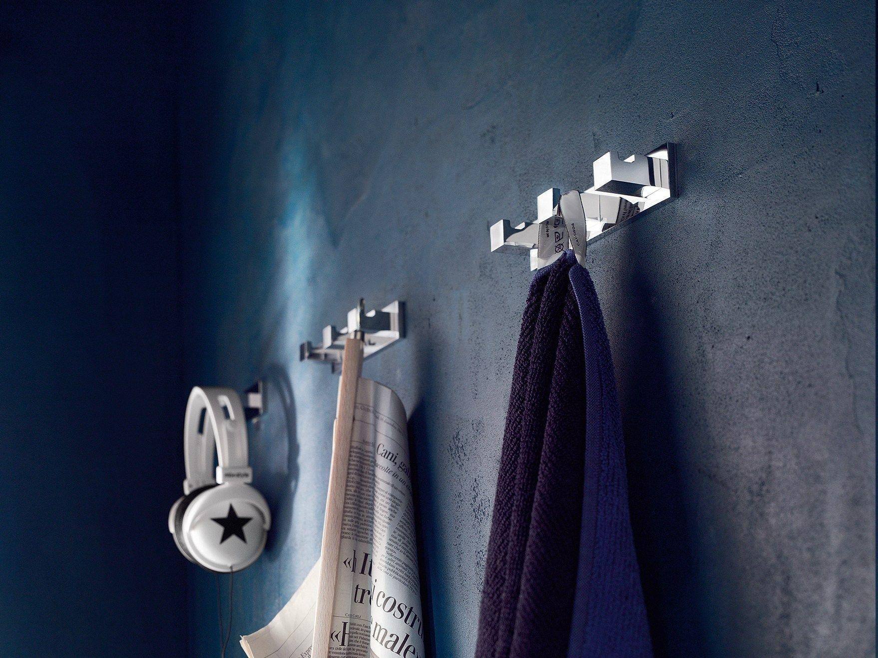 Cube porta accappatoio by carlo nobili rubinetterie design - Porta accappatoio da doccia ...