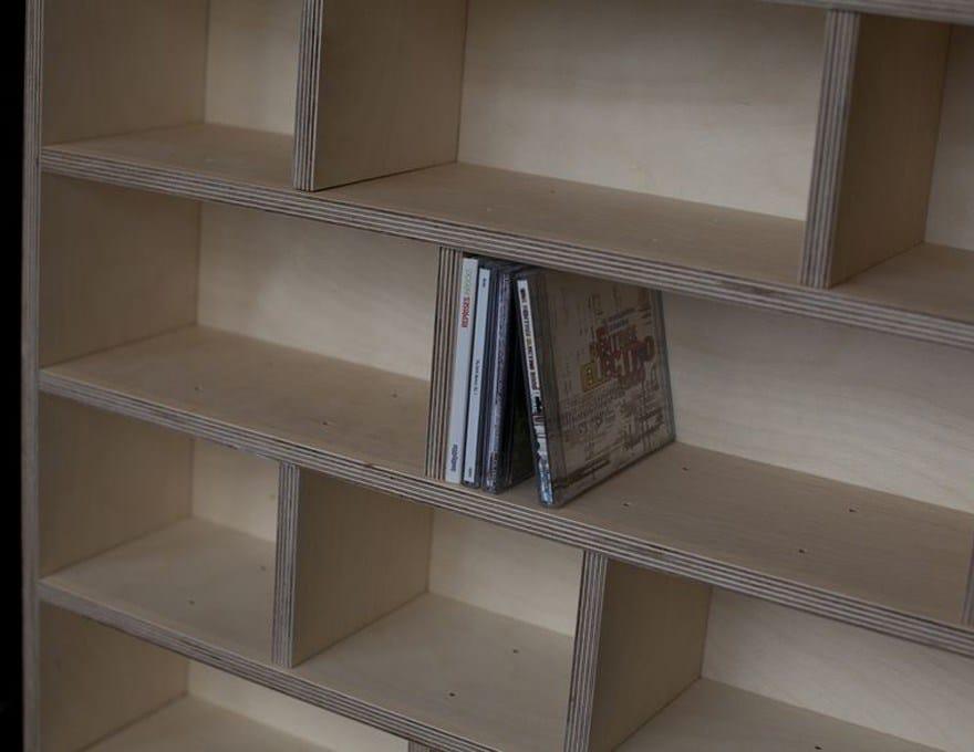etag re sur mesure etag re cd bois by malherbe edition. Black Bedroom Furniture Sets. Home Design Ideas