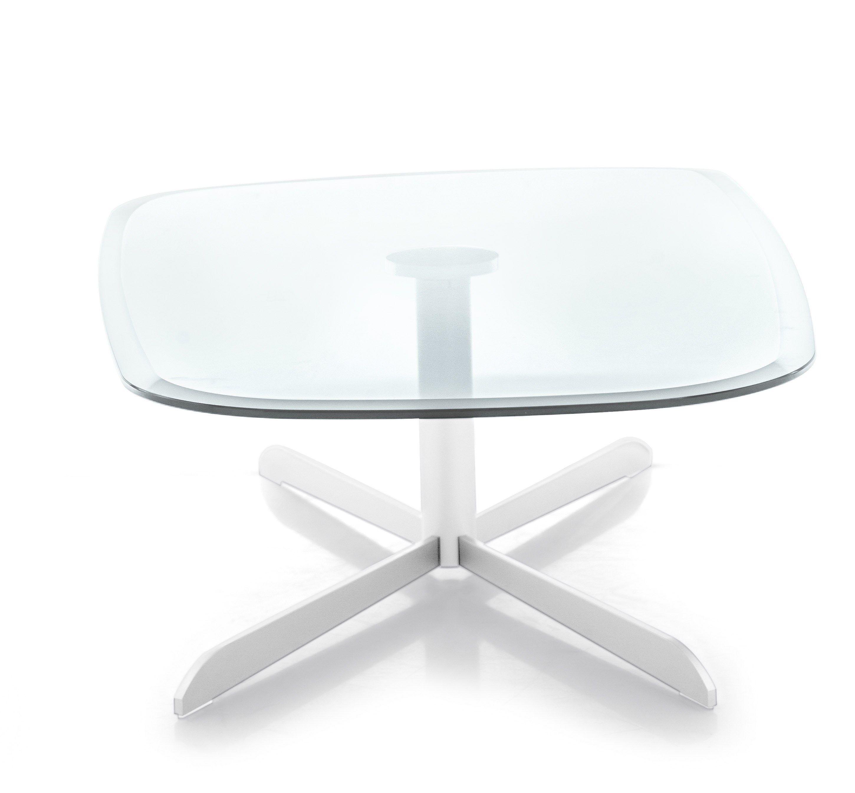 Tavolino basso in metallo in stile moderno da salotto for Tavolini da salotto moderni calligaris